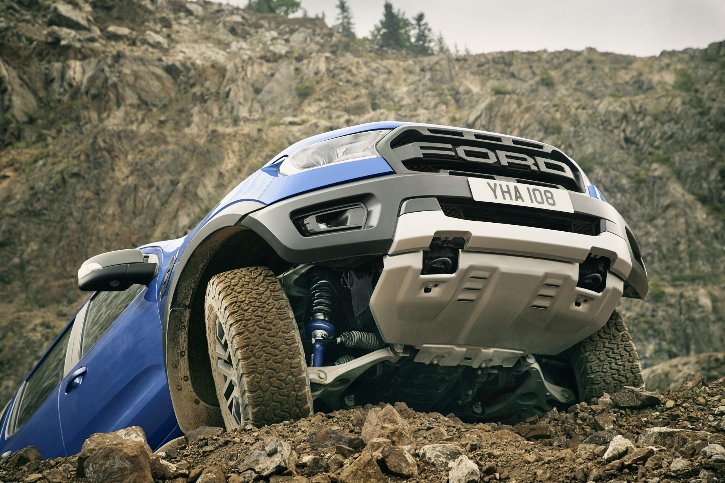 Car review: the Ford Ranger Raptor, an unlikely predator