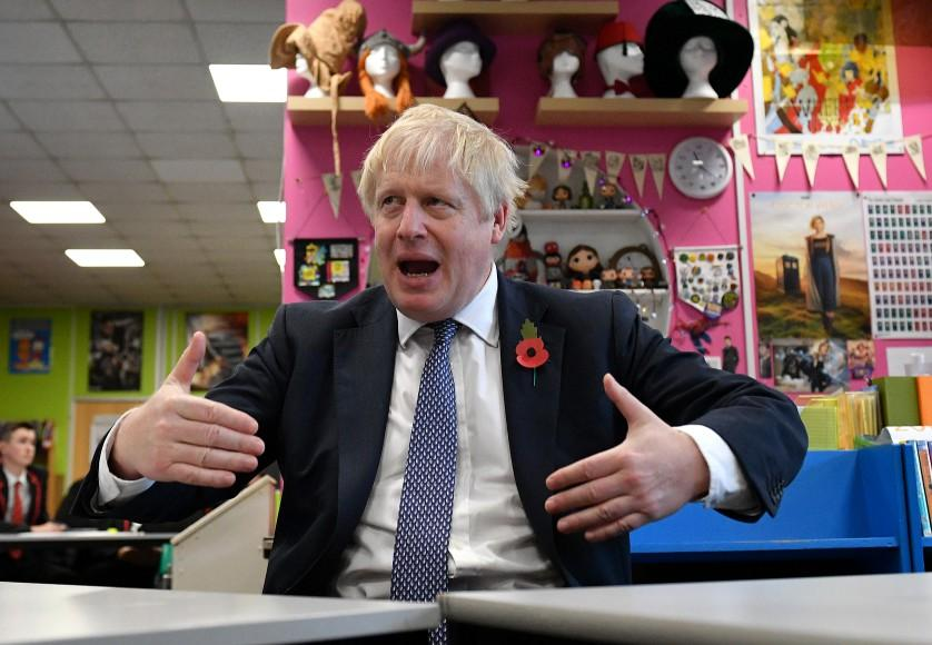Sixth form pupils confined to room during Boris Johnson school visit