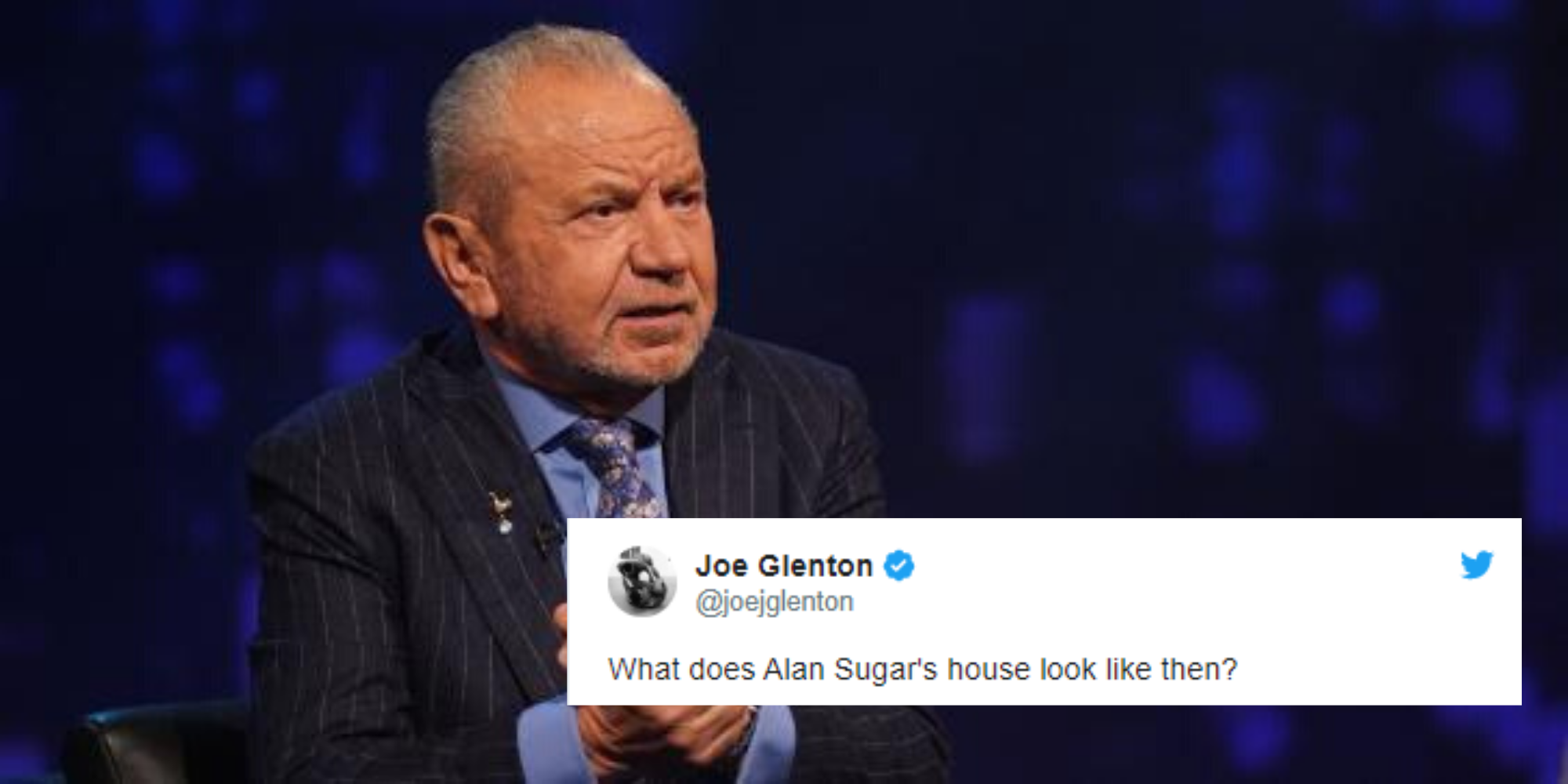 Multimillionaire Alan Sugar is annoyed that Jeremy Corbyn may also b…