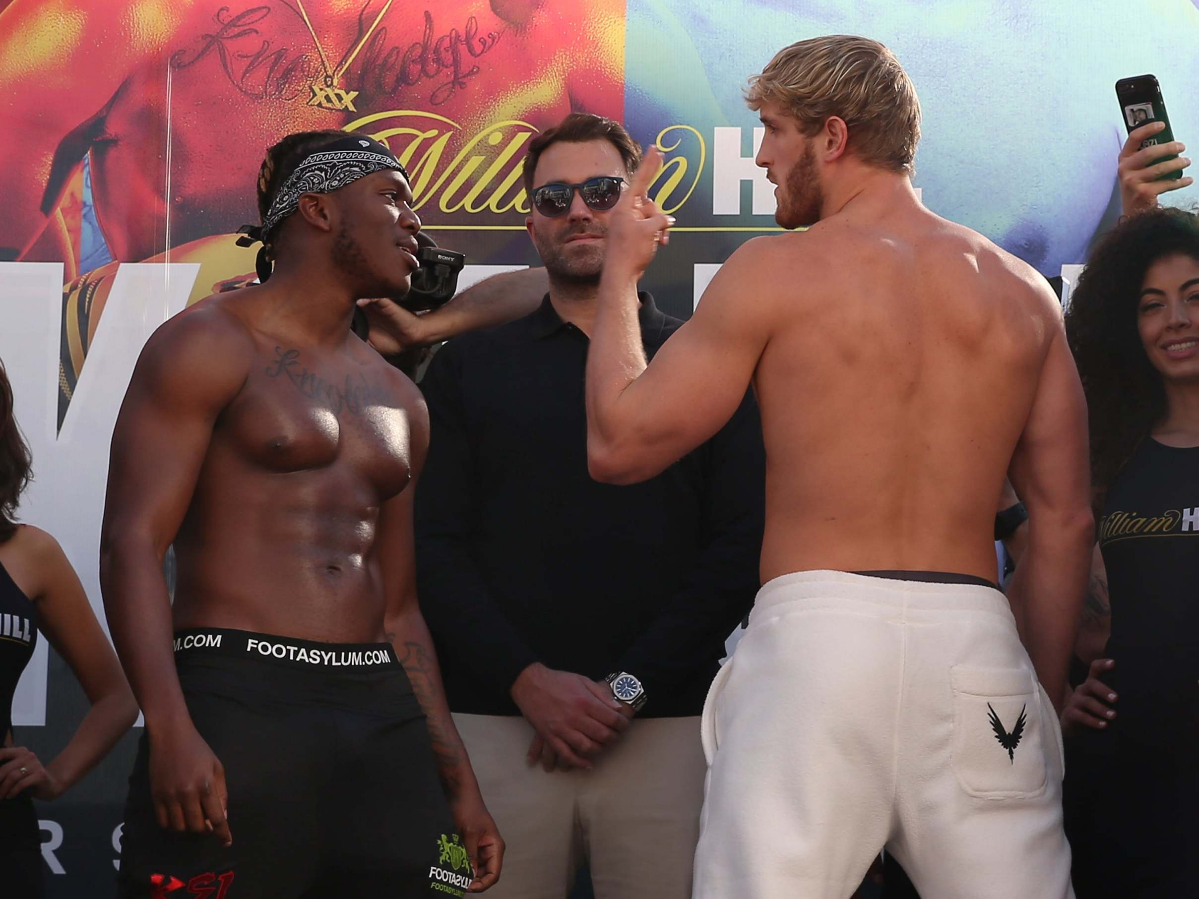 Logan Paul Vs Ksi Time