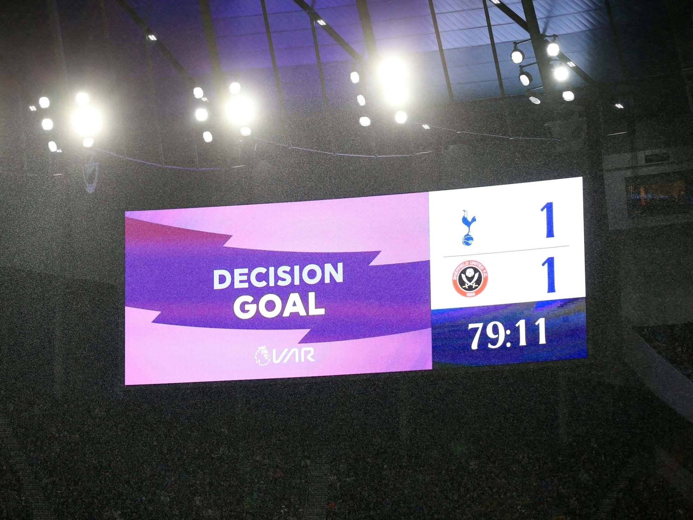 Premier League pledges to give fans more information during VAR checks