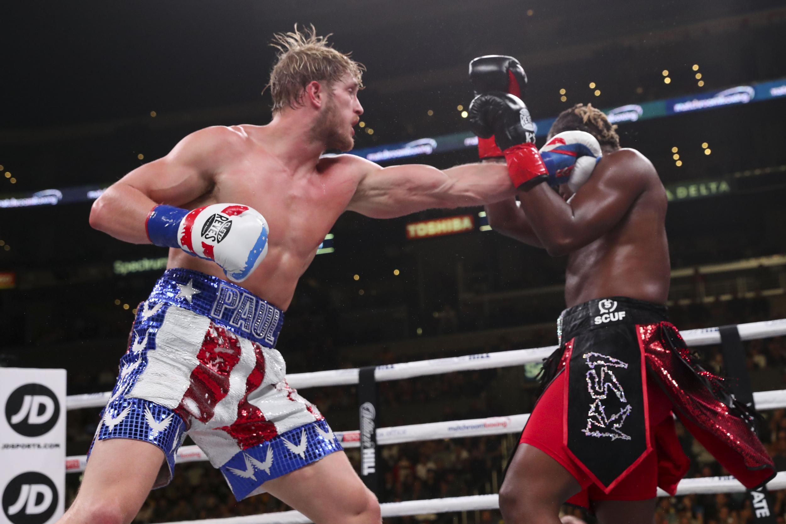 KSI vs Logan Paul fight result Londoner wins YouTube boxing
