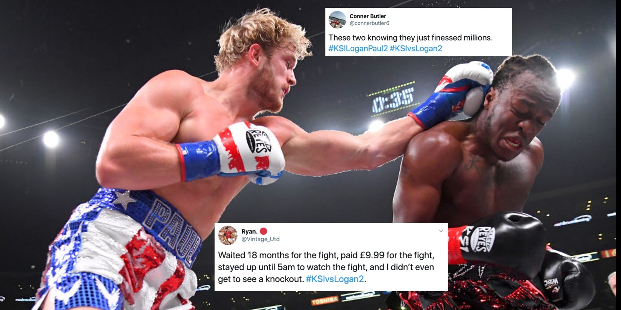 Ksi Vs Logan Paul 2 16 Of The Funniest Tweets New Messages Indy100