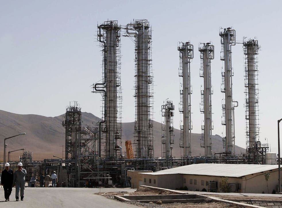 Construction follows growing tensions with international powers who fear a nuclear-capable Iran