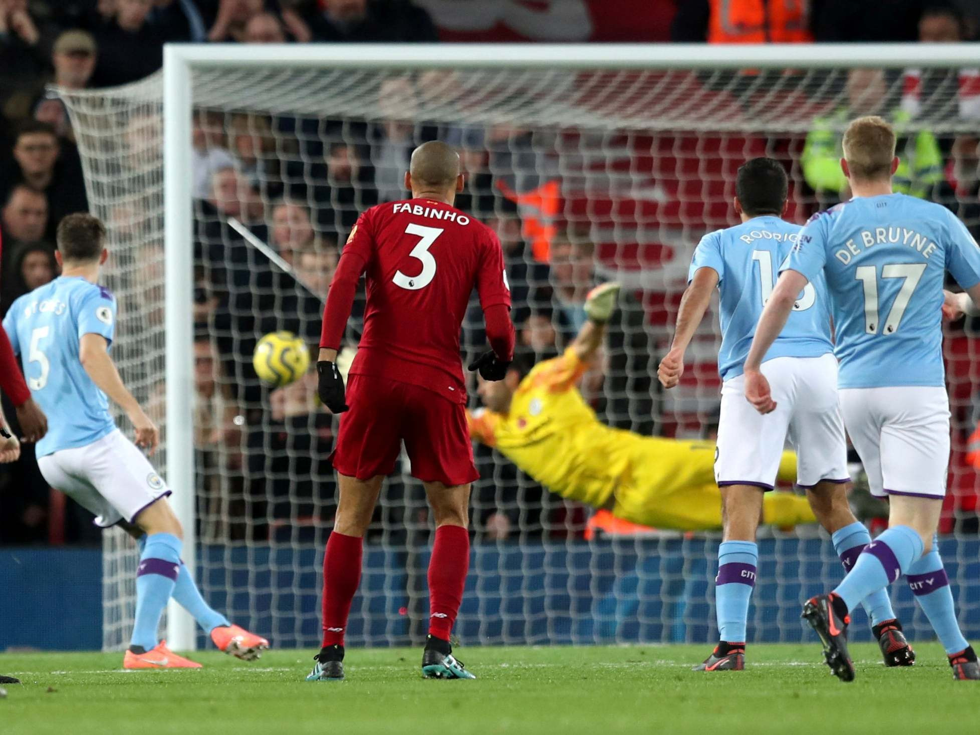 Liverpool vs Man City player ratings: Who stood out in Premier League top of the table fixture?