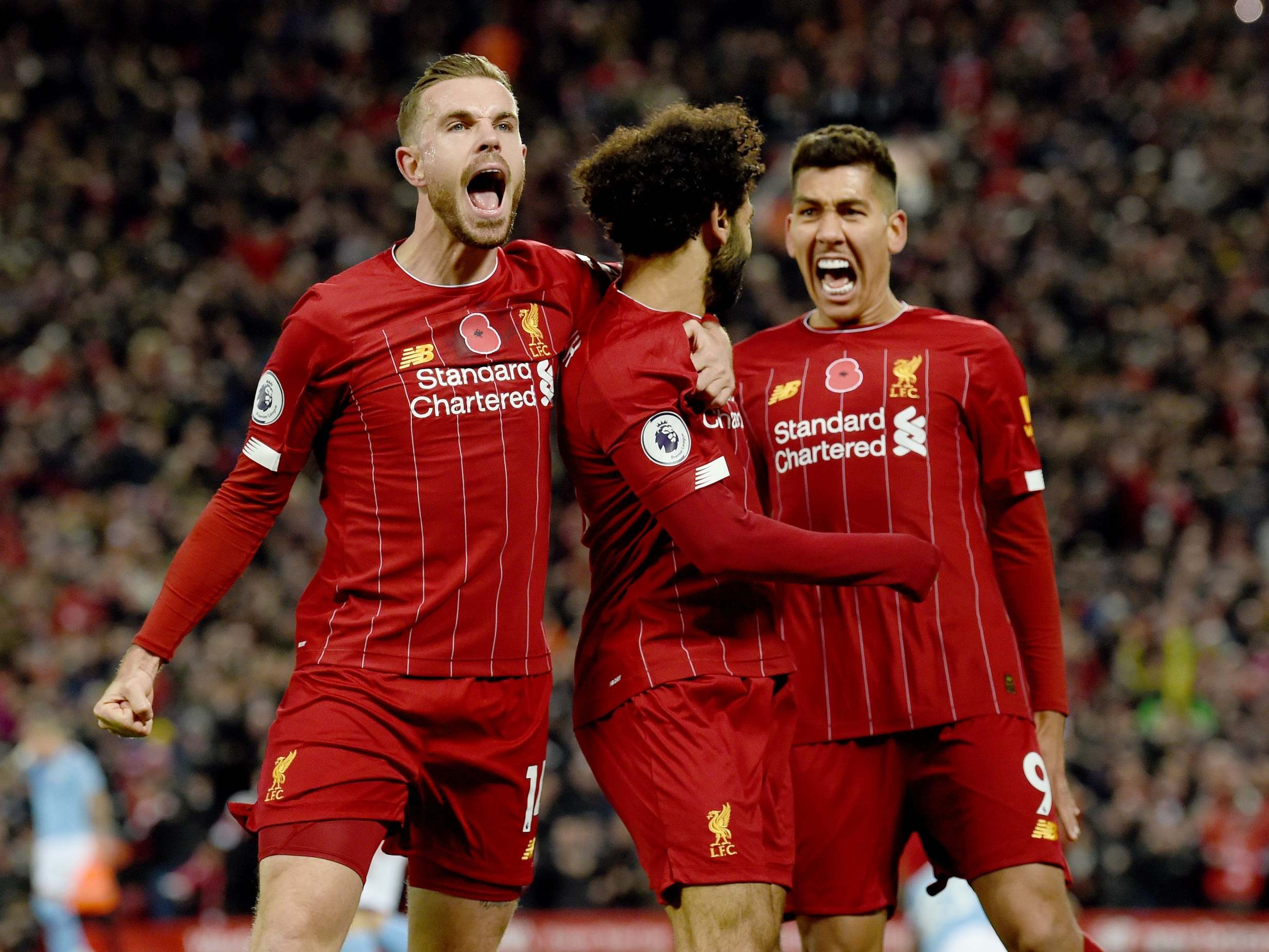 Liverpool vs Man City LIVE: Result and reaction from Premier League fixture today