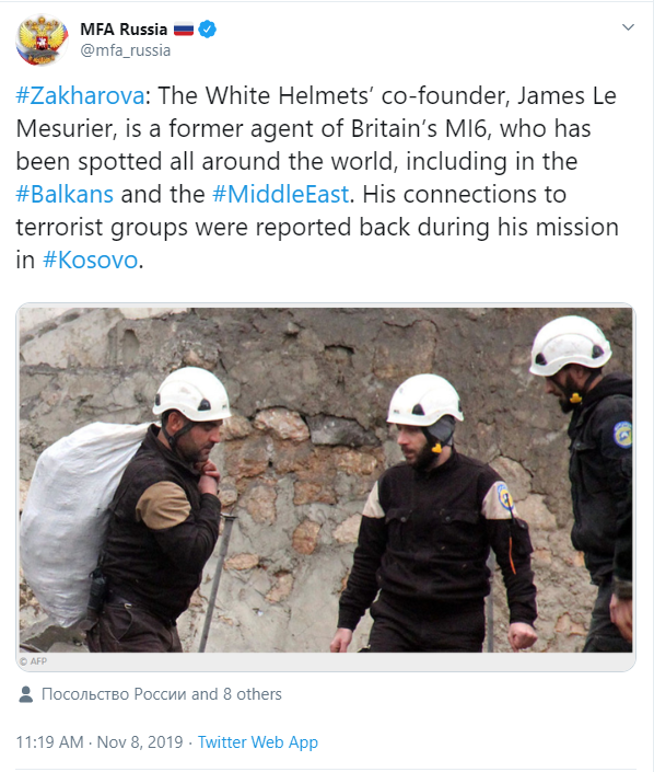 British White Helmets founder found dead after Russian accusation  James-mfa
