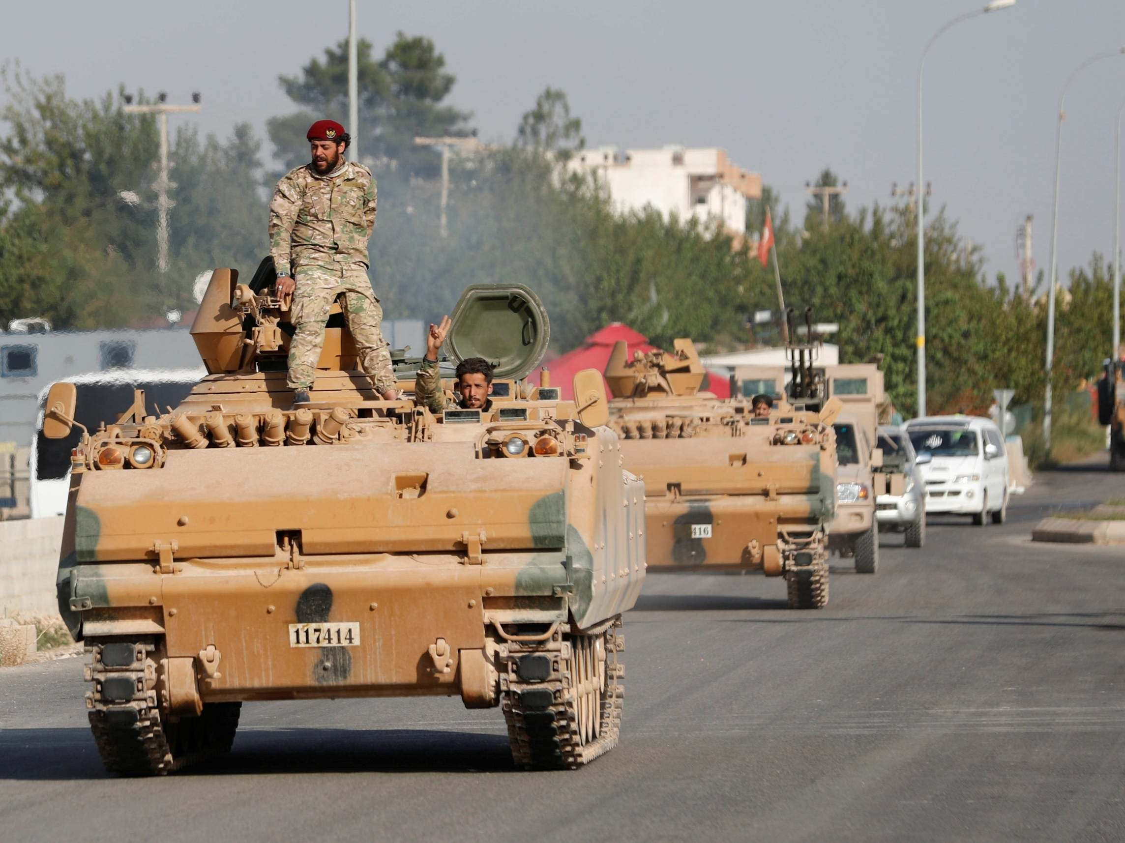 Turkey's proxy army is 'looting, kidnapping and executing Kurds at random'