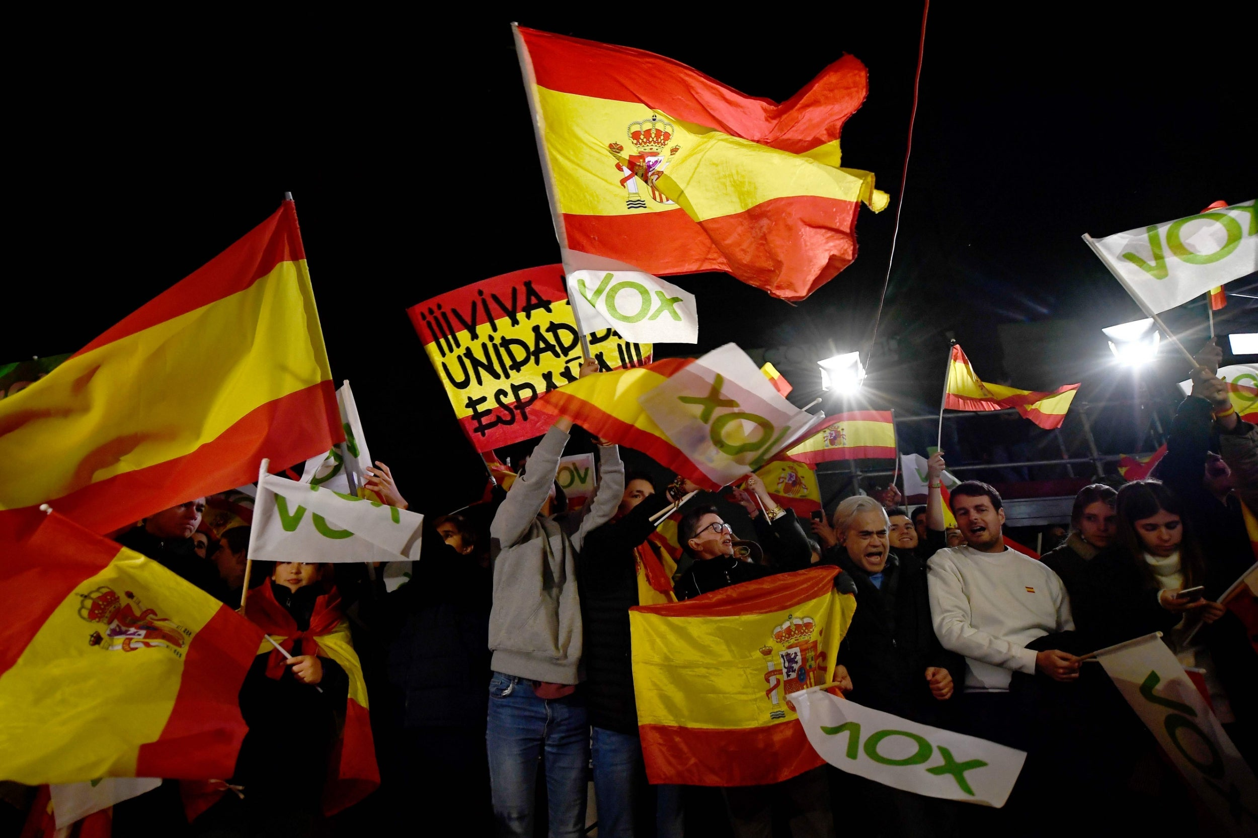 Wristbands and a sense of belonging: How Spain's far-right Vox party have entered mainstream