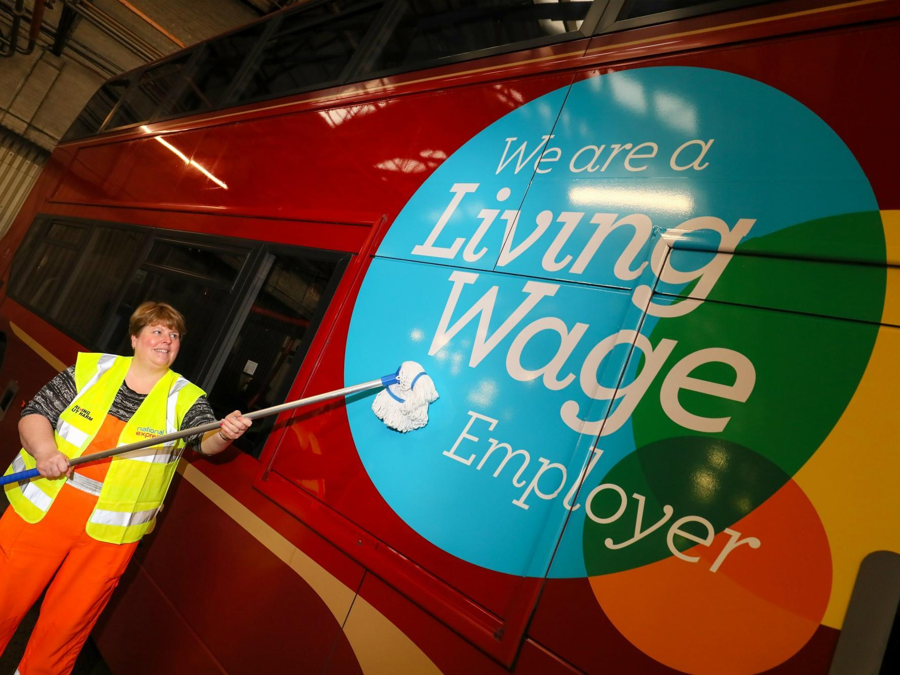 210,000 people to get pre-Christmas pay rise because of living wage