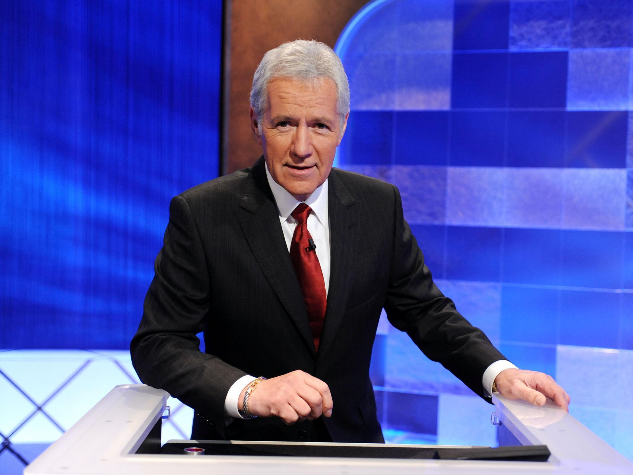 Alex Trebek gets emotional on 'Jeopardy!' following contestant's unexpected heartfelt message