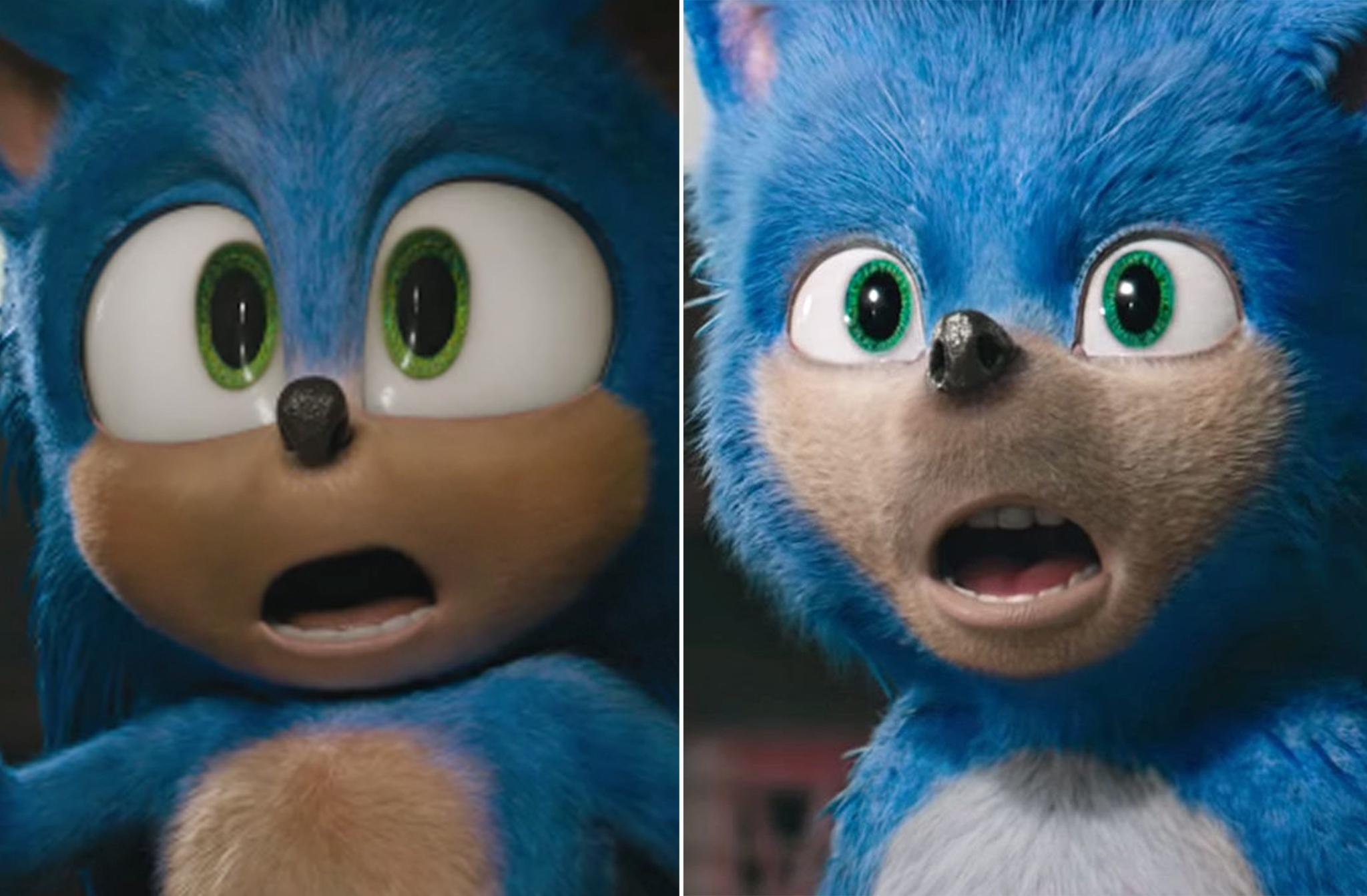 sonic the hedgehog 2019 vs 2020