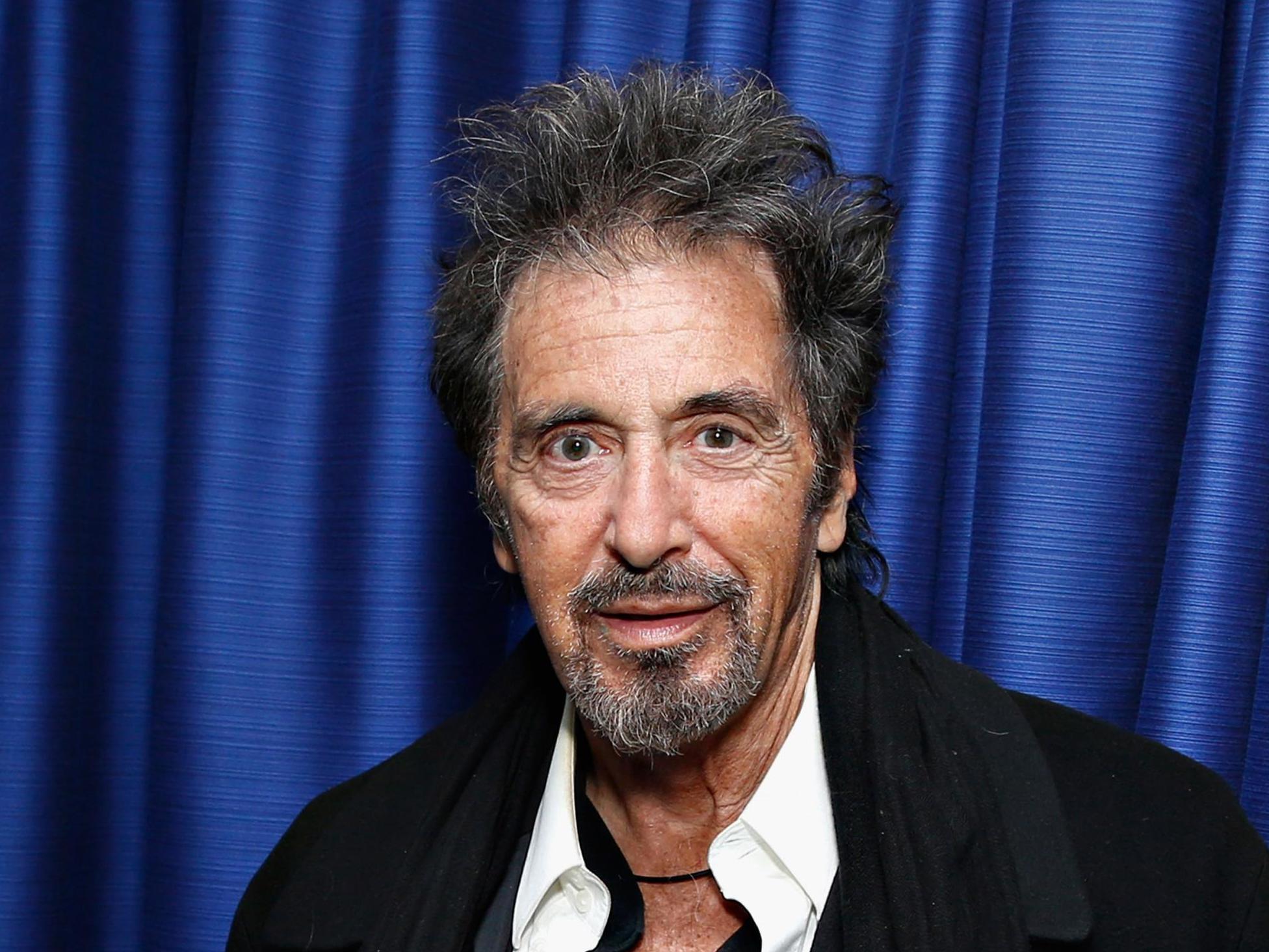 The Irishman star Al Pacino says he would use de-ageing tech to star in Michael Mann's Heat prequel