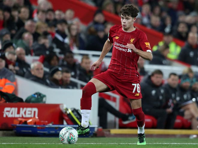 Liverpool Young player partaking in a good role