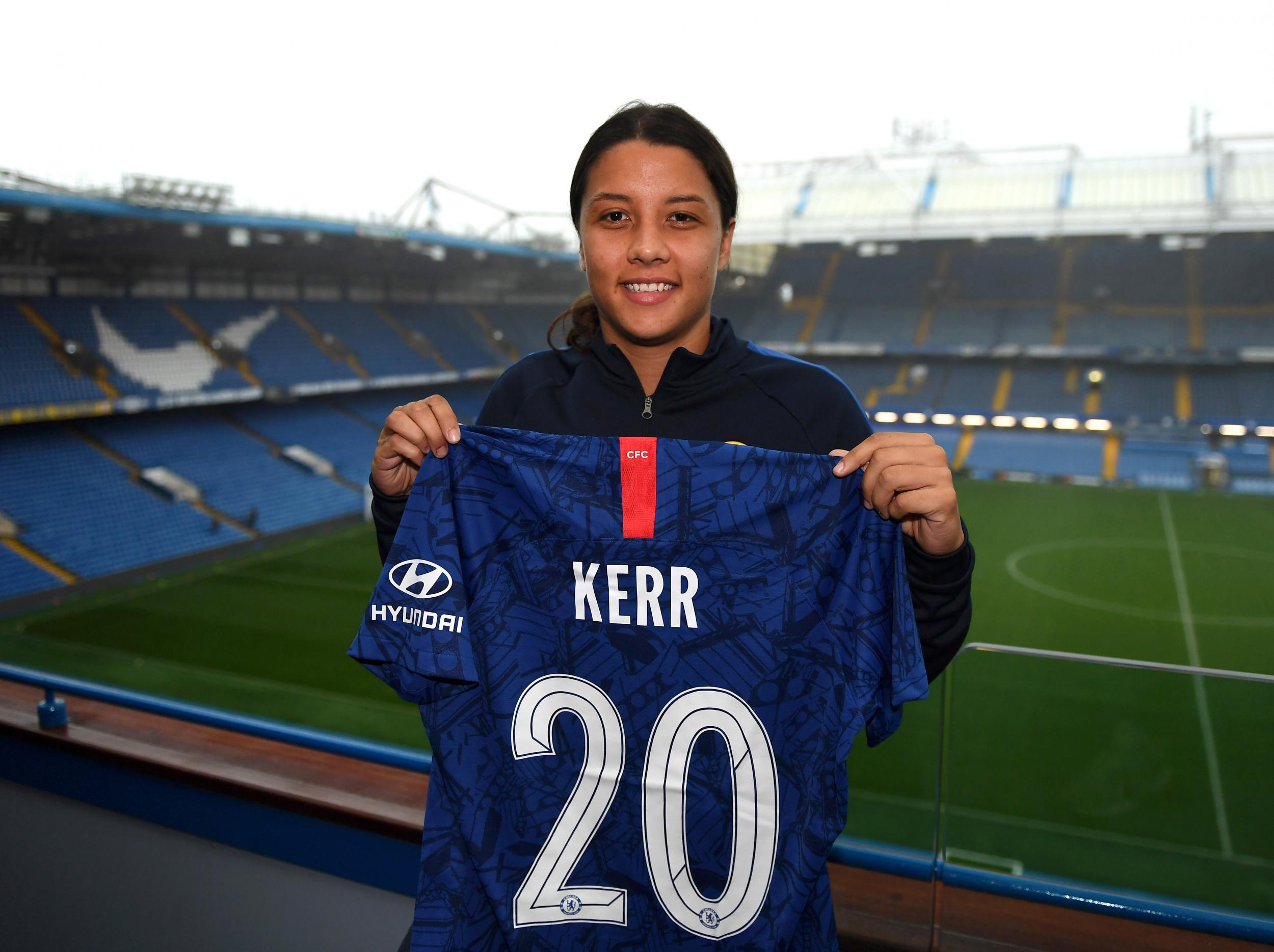 Sam Kerr: Women's Super League reacts to Chelsea's 'amazing' new signing - The Independent