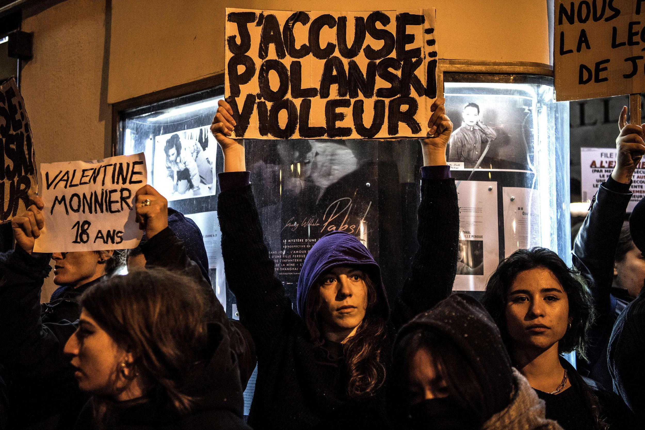 Roman Polanski: Paris screening of An Officer and a Spy shut down by protestors following new rape allegation