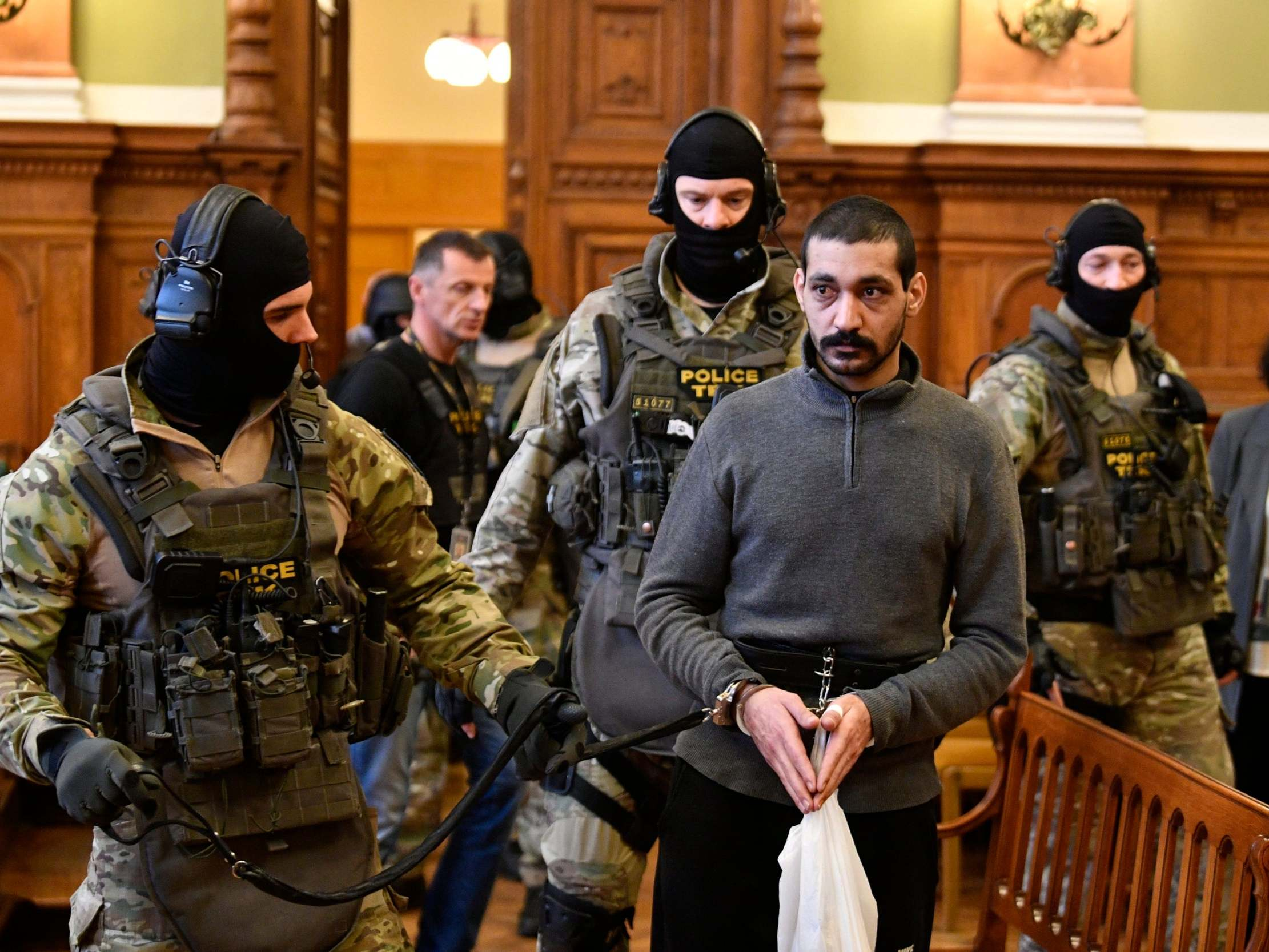 'Isis leader who beheaded imam and ordered dozens of killings' on trial in Hungary