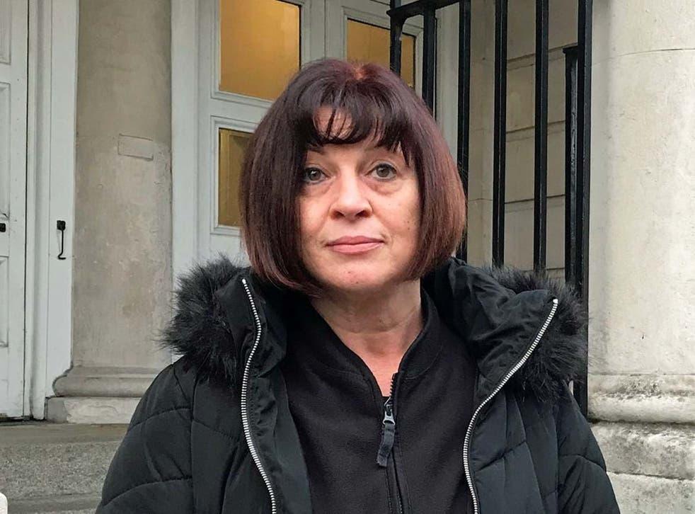 Julie Fagan said Paul Kerr had threatened to rape her