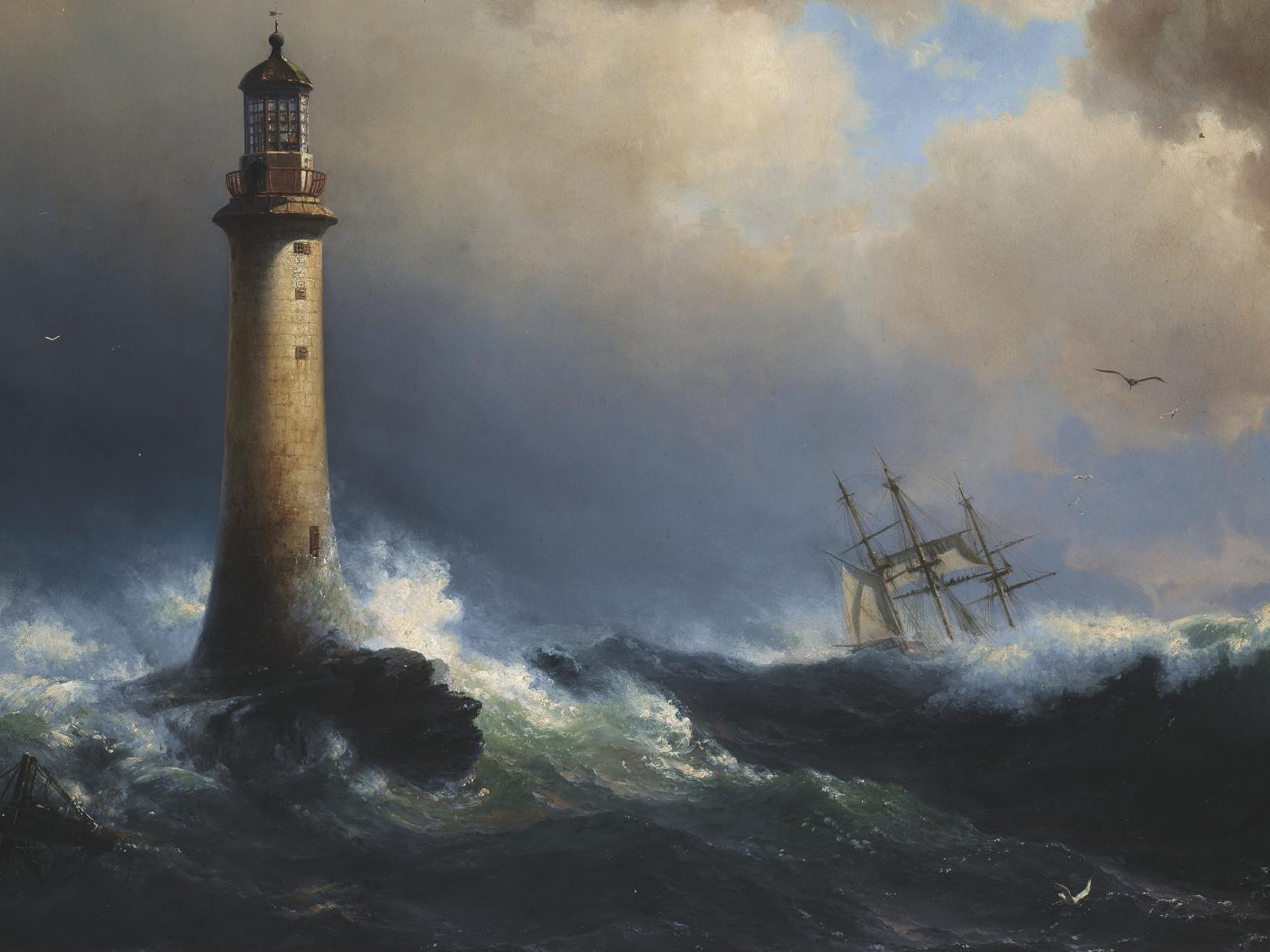 Eddystone Lighthouse: The remarkable story of the UK's first lighthouse
