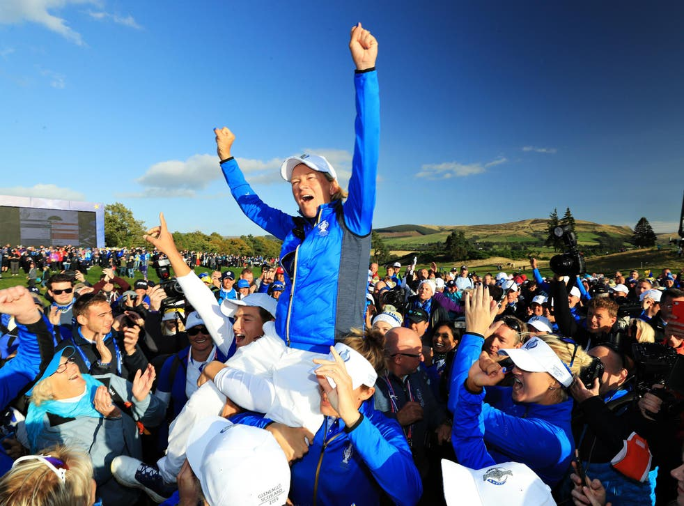 Catriona Matthew led Europe to an incredible victory at Gleneagles in September