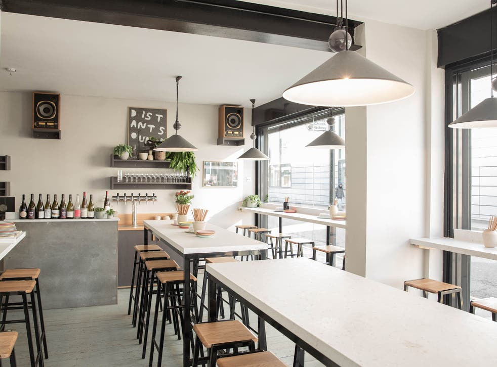 Peg, together with P Franco and Bright, is part of an appealing Hackney micro-empire