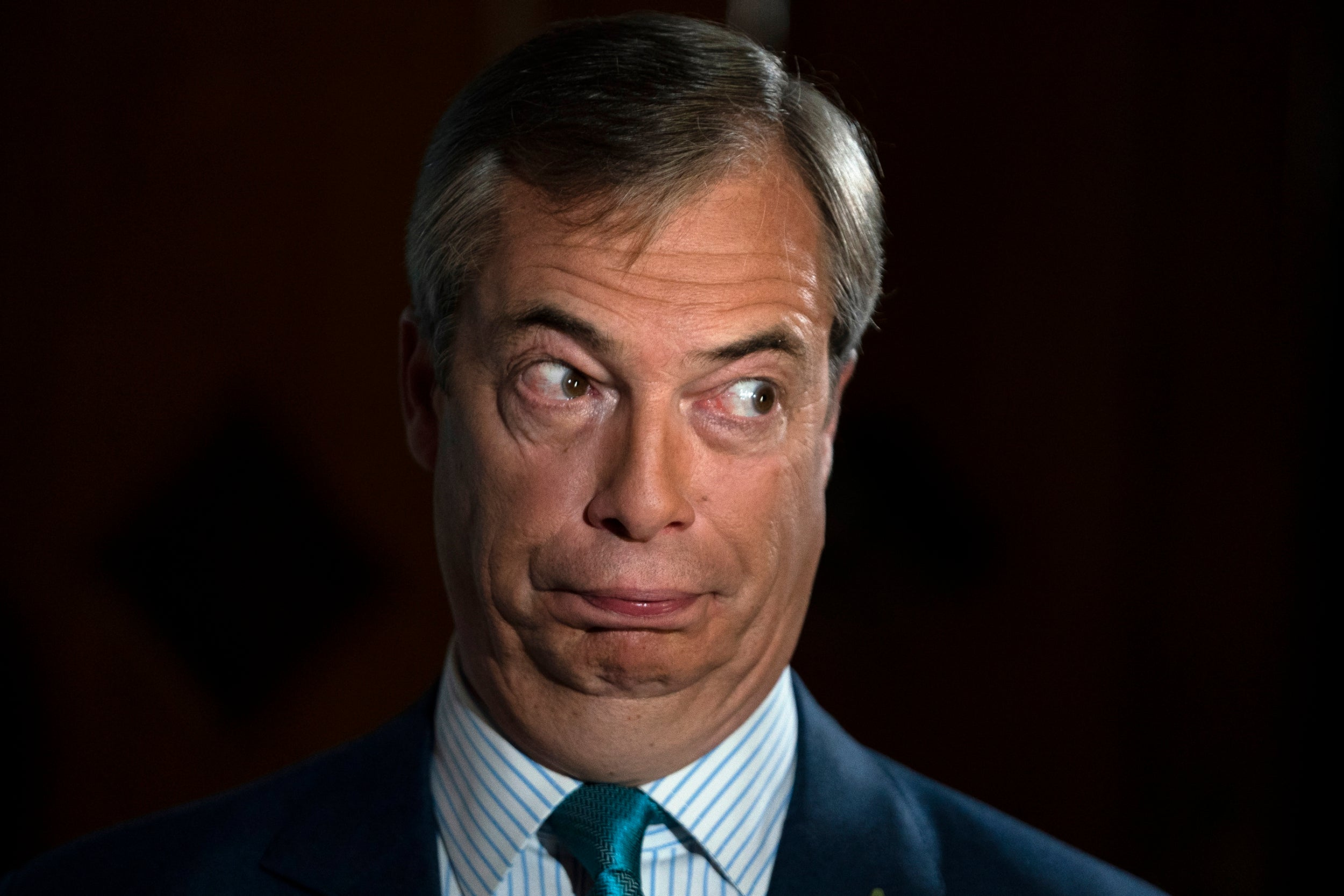 Met Police assessing electoral fraud claims after Farage says senior Brexit Party figures offered peerages to step aside