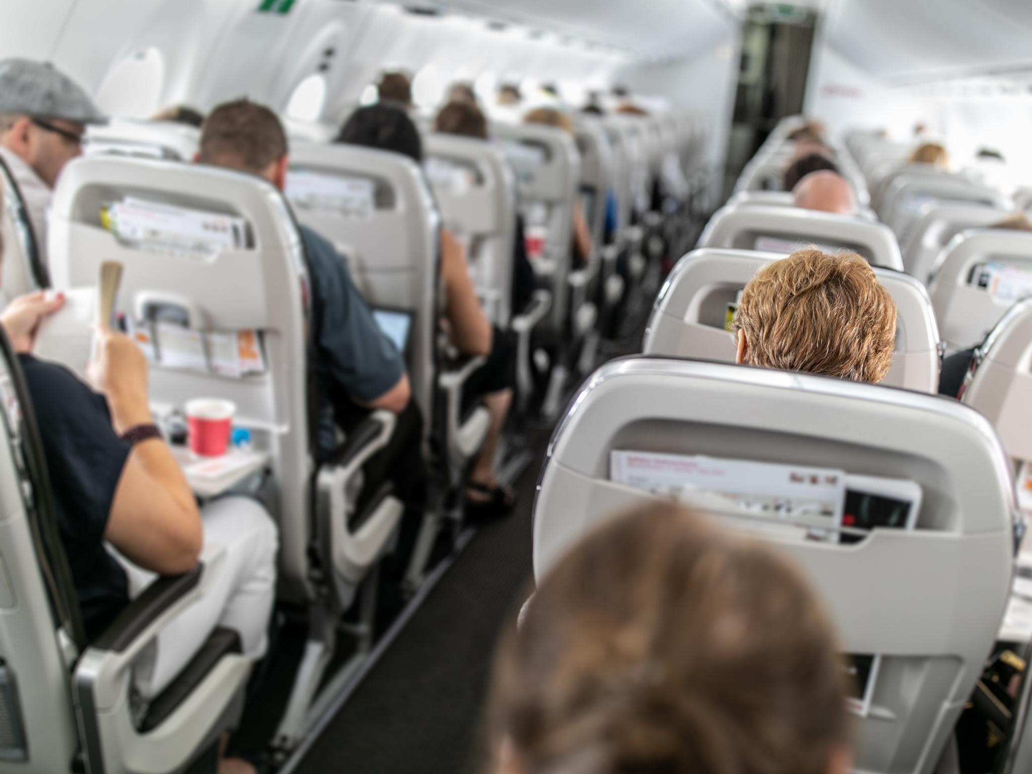 What to do when you're sat next to an irritating passenger on a plane