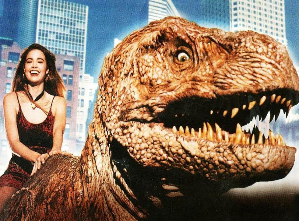 'It was done as a campy movie, because you couldn't take it seriously': Denise Richards in 'Tammy and the T-Rex' (1994)