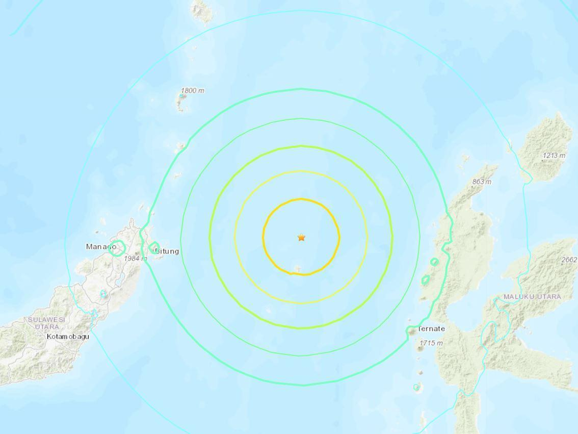 Indonesia earthquake: Tsunami warning after 7.4-magnitude quake hits near Malaku islands