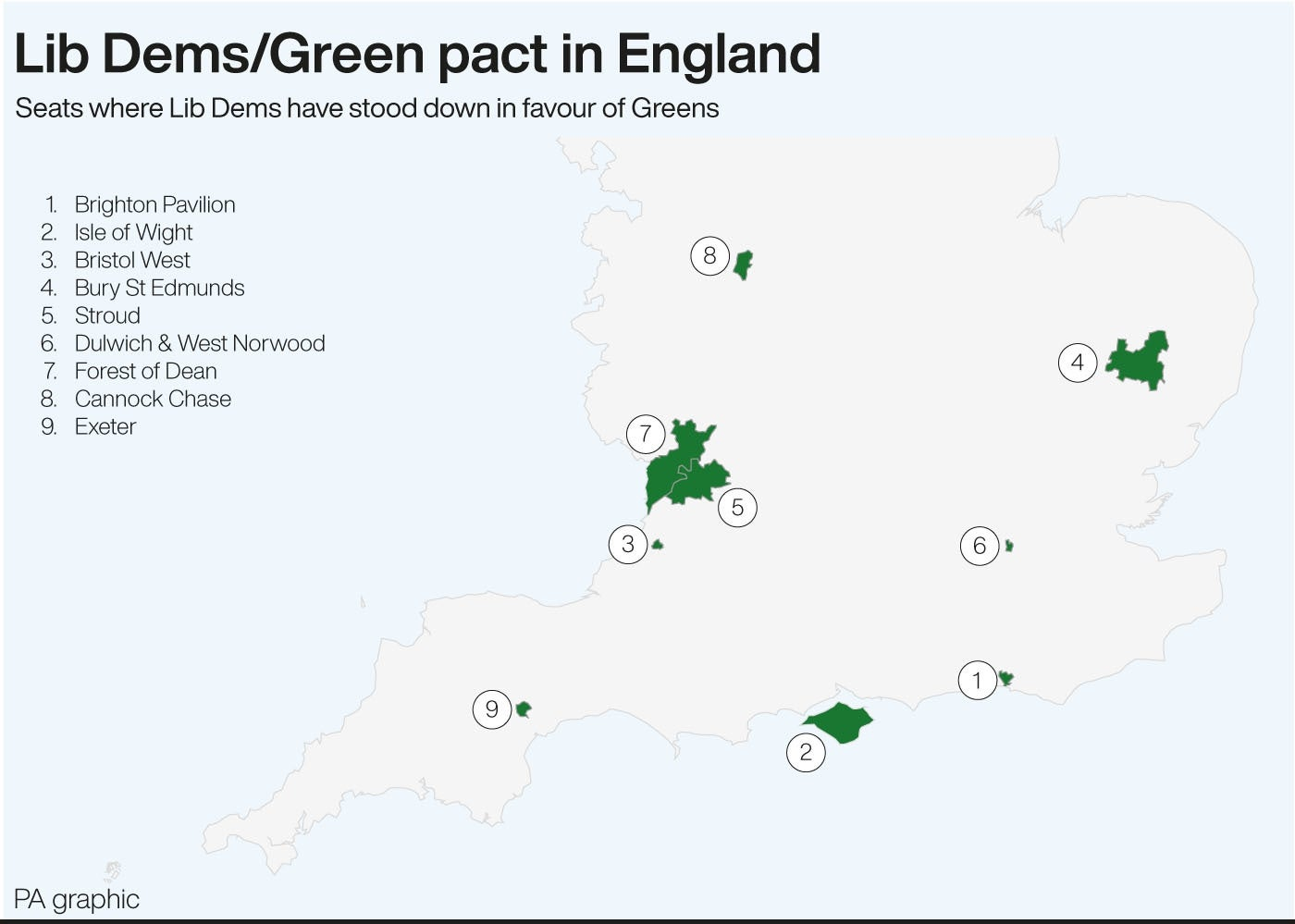 Lib Dems/Green pact in England