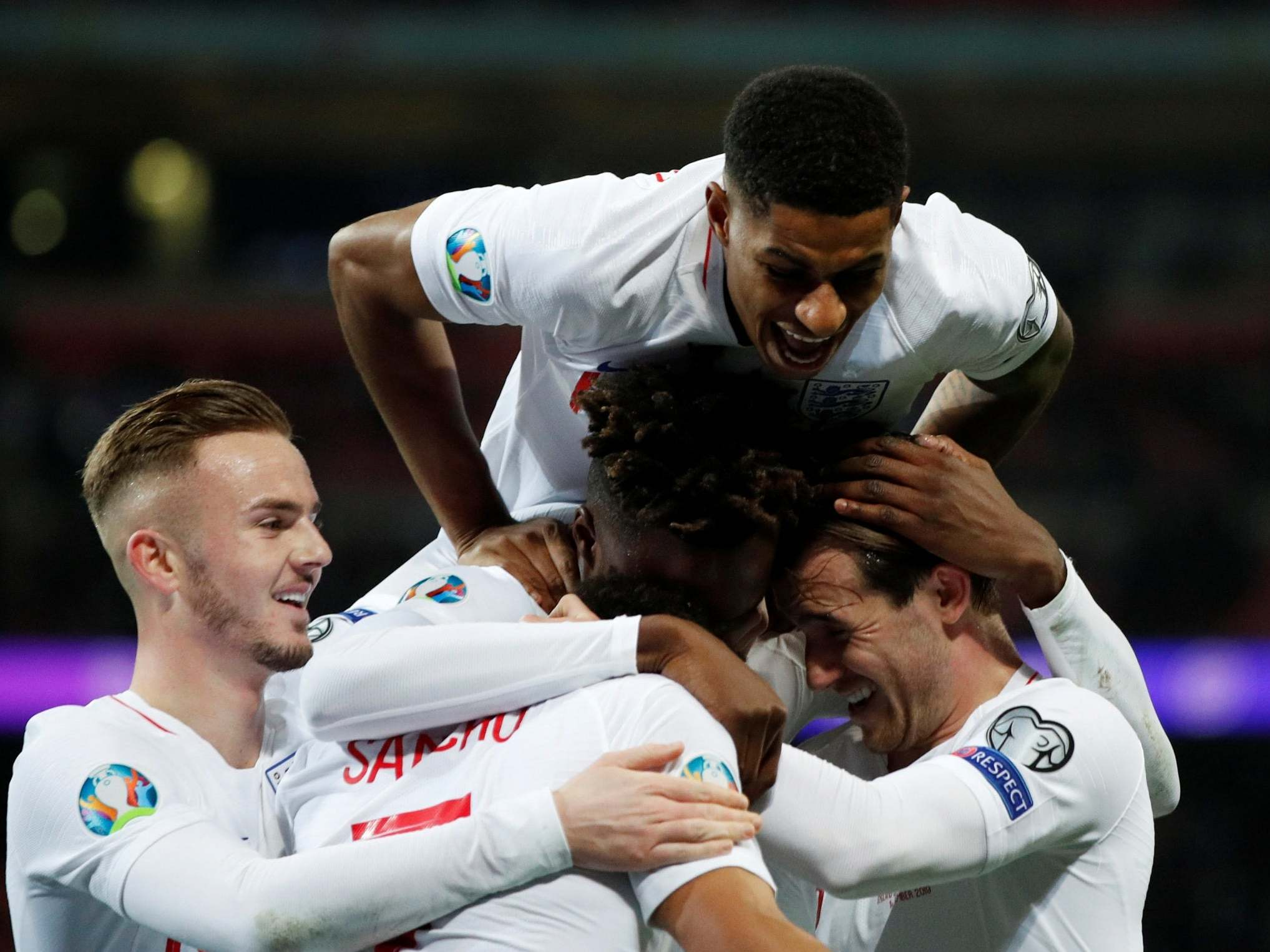 England vs Montenegro: Three Lions relish night of stat-padding to secure Euro 2020 spot unscathed