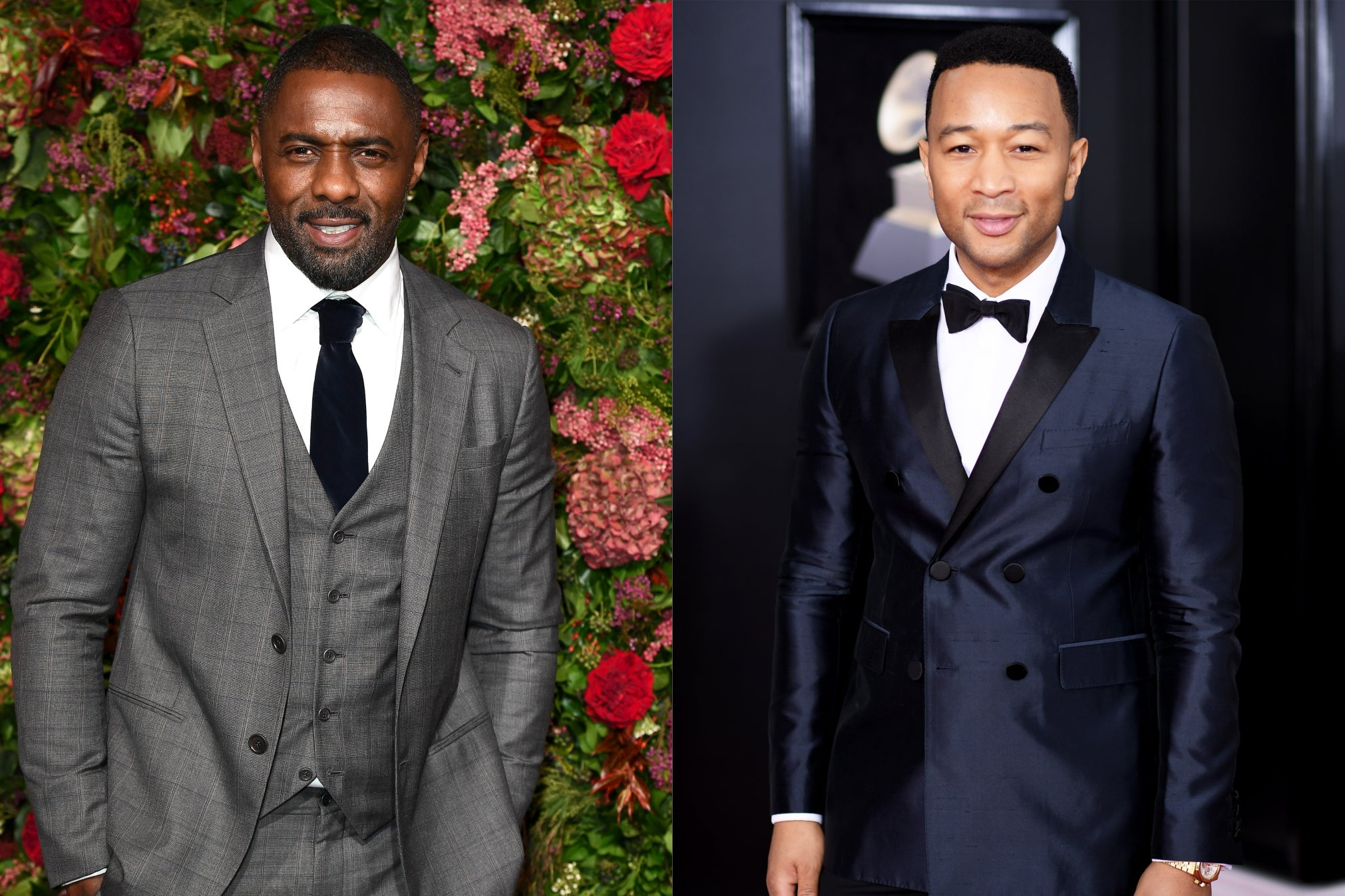 Idris Elba shares throwback photo after John Legend takes his title …