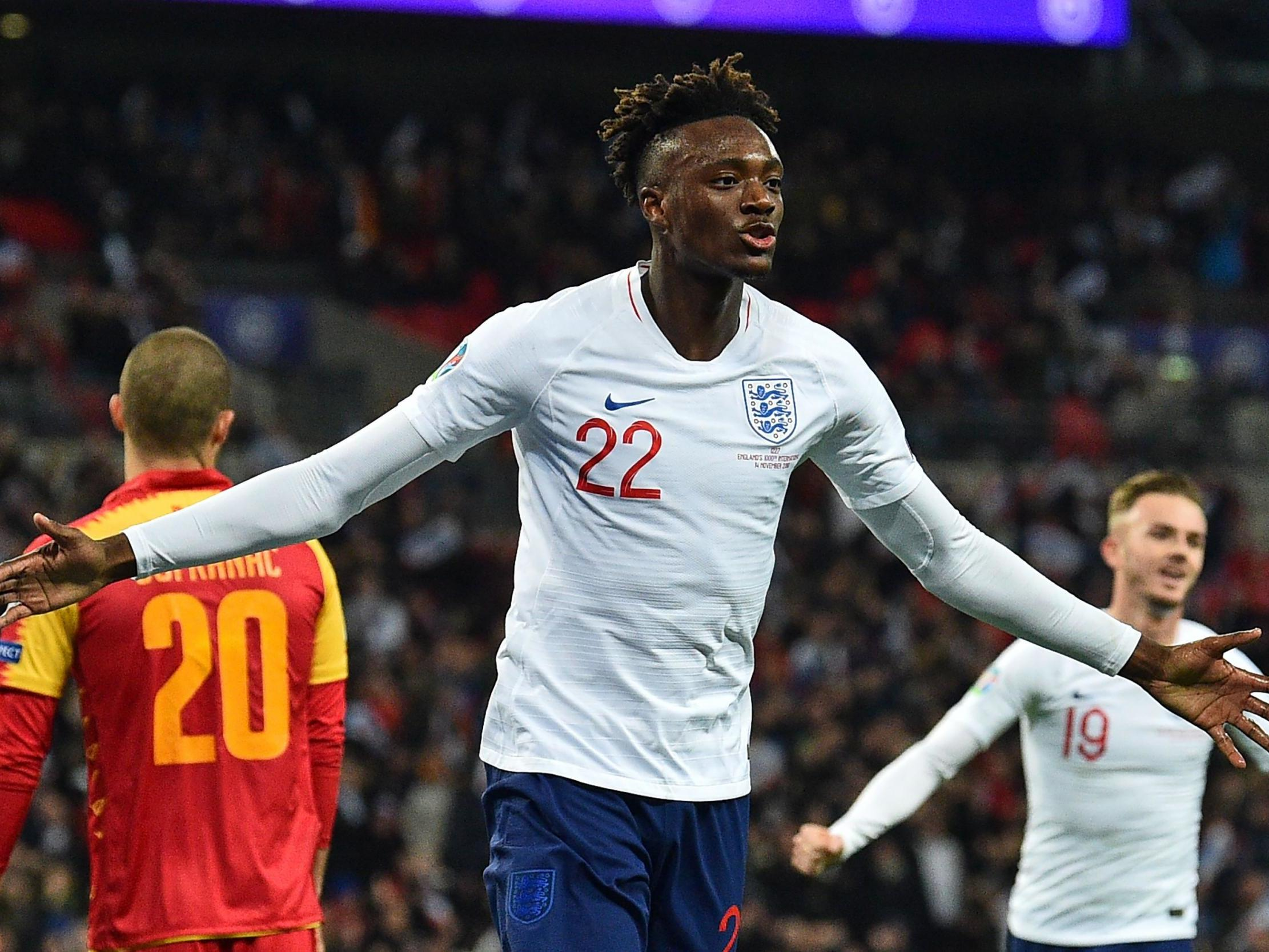 Tammy Abraham dreaming of Euro 2020 glory with England