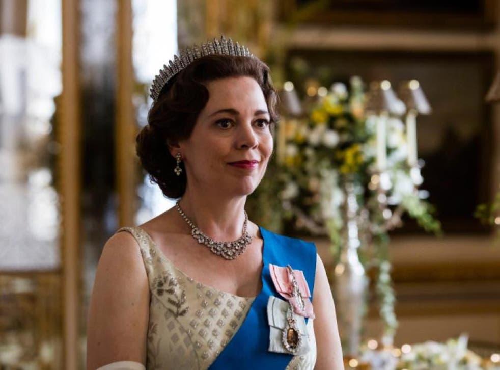 Colmanas Queen Elizabeth II in Netflix's The Crown