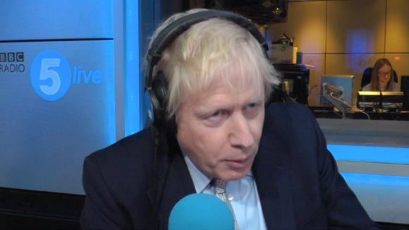 Boris Johnson reveals ignorance over EU immigration figures in BBC interview