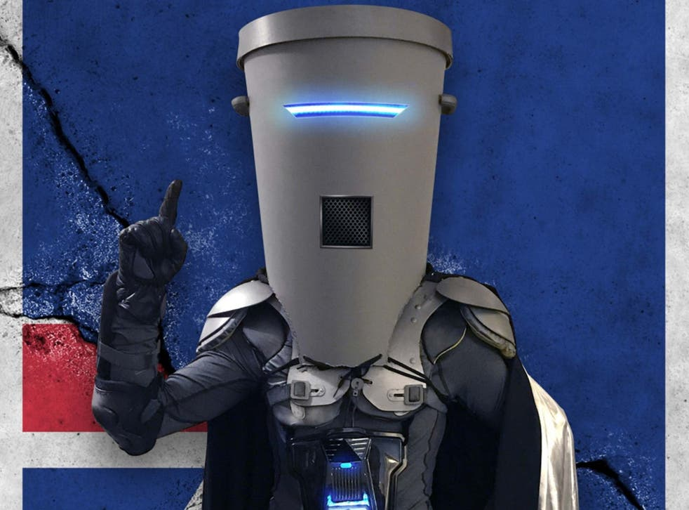 Count Binface will take on his own former identity - Lord Buckethead - at the 2019 general election