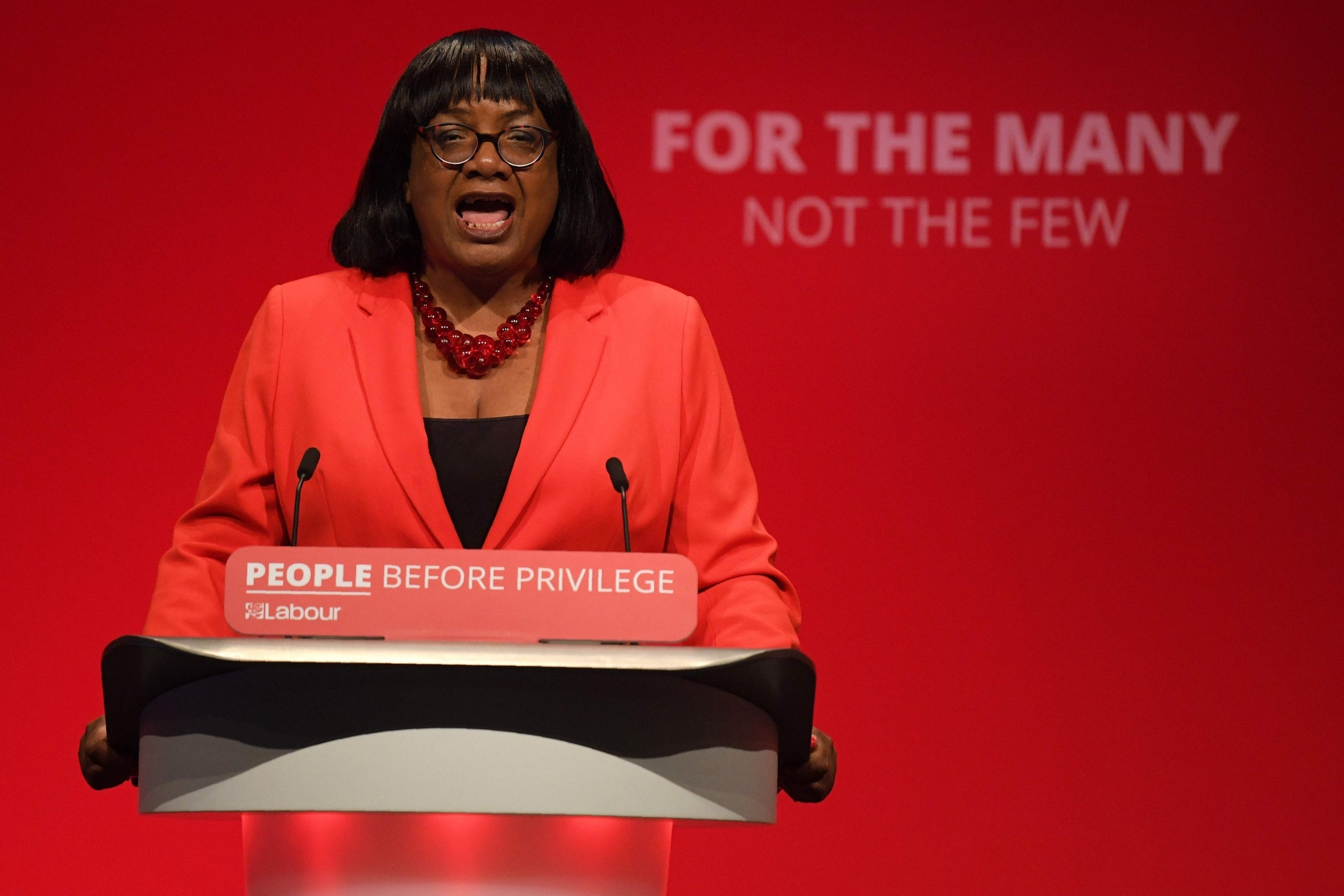 General election: Diane Abbott vows to eradicate culture of deportations 'haunting' Home Office