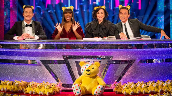 Children in Need raises £47m with help from Strictly Come Dancing, EastEnders and Doctor Who stars