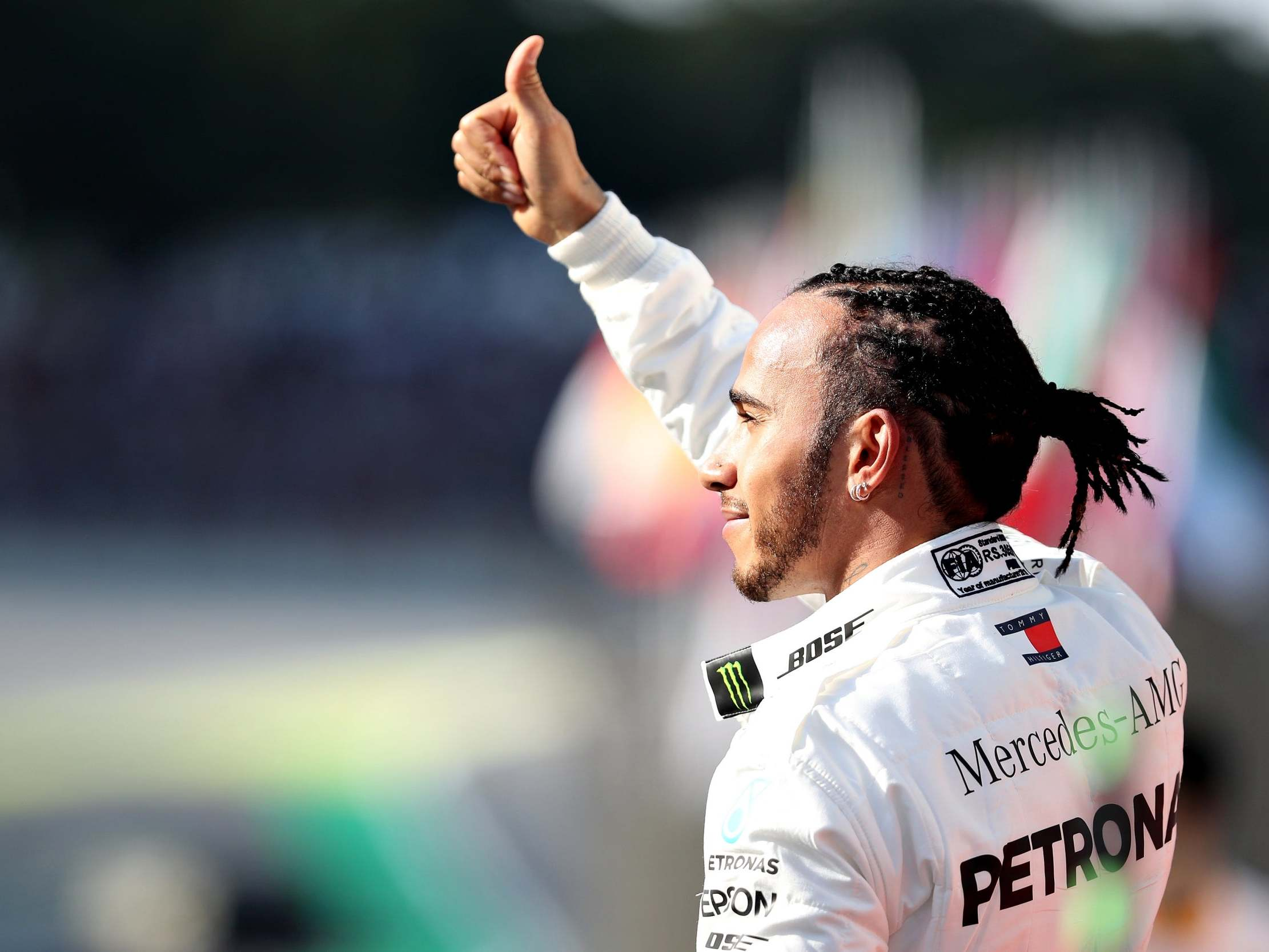 Brazilian Grand Prix: Lewis Hamilton dismisses talk of knighthood following sixth F1 title