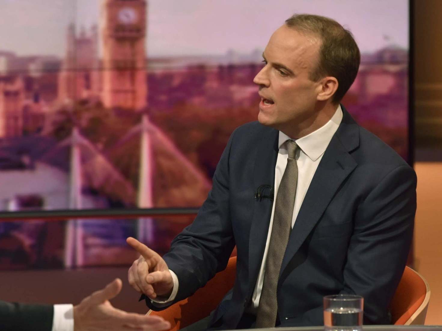 Brexit Dominic Raab Tells Businesses To Innovate To Plug