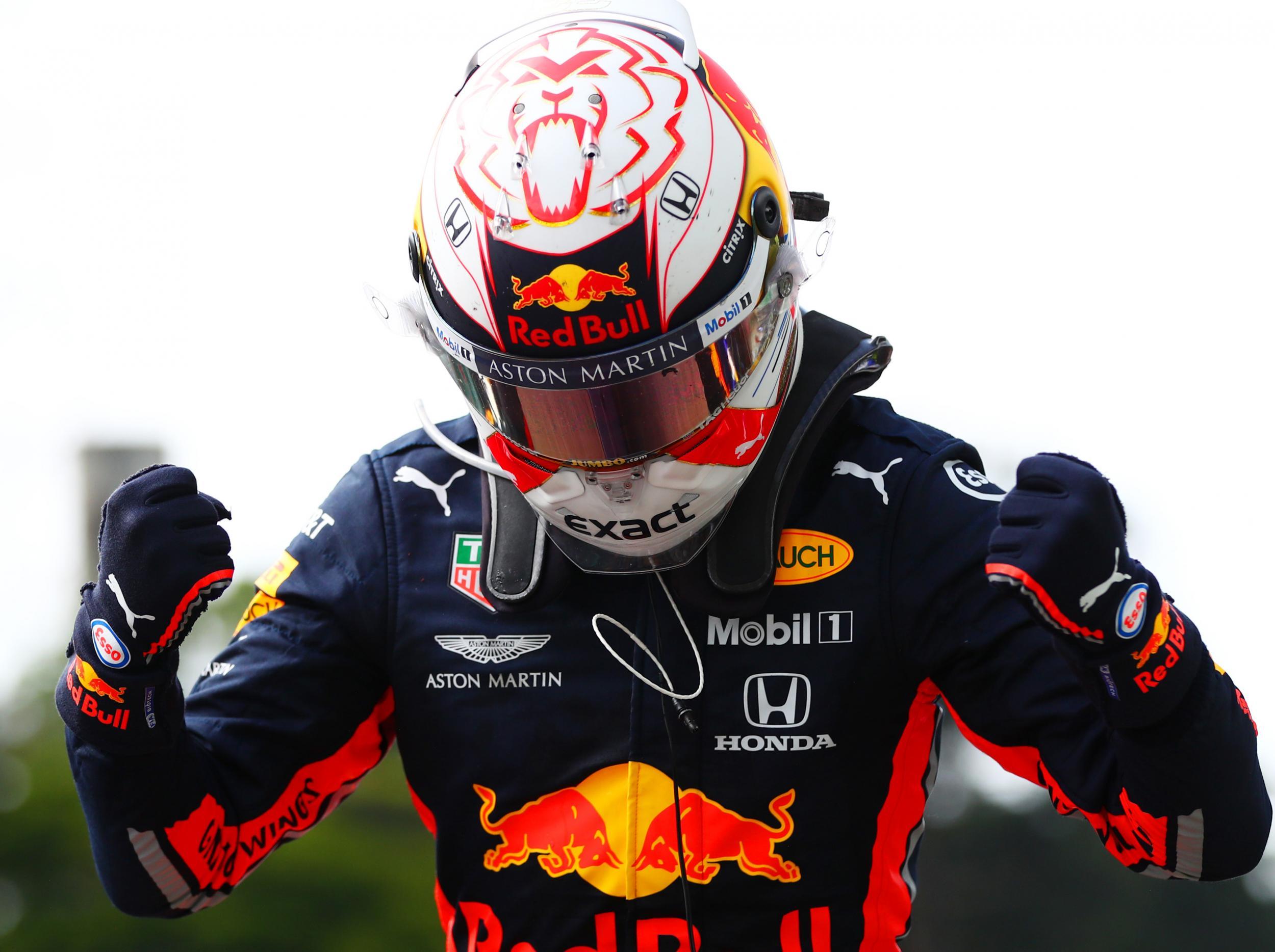 F1: Max Verstappen passes Lewis Hamilton twice to win thrilling Brazilian Grand Prix 2019