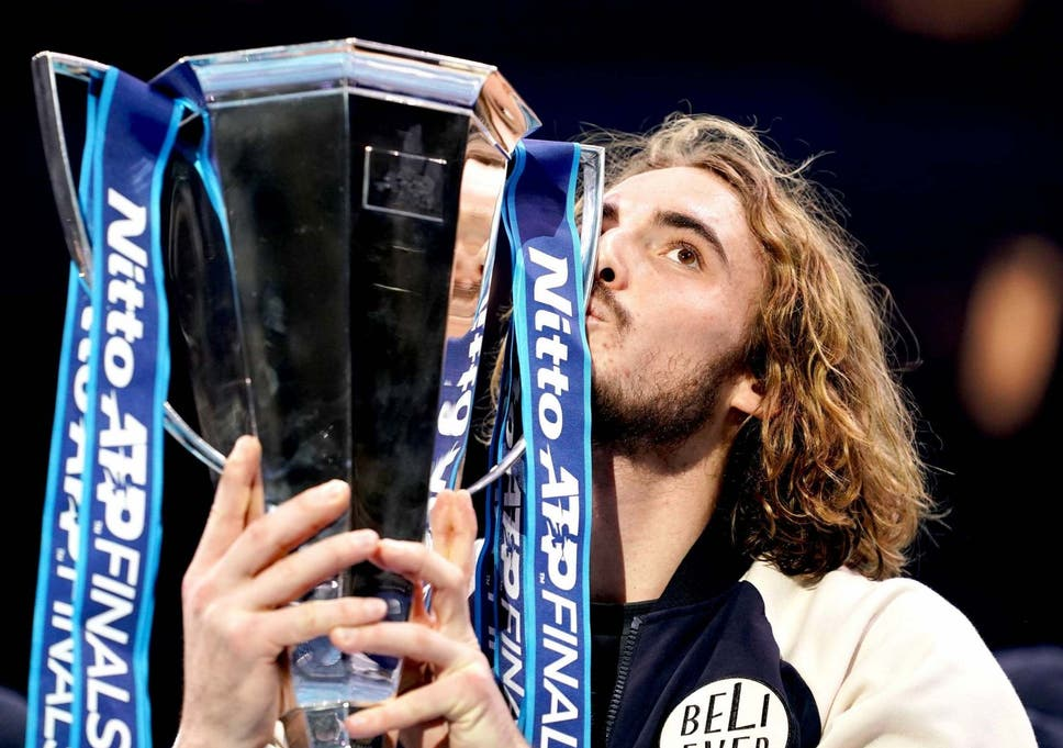 Image result for tsitsipas atp finals