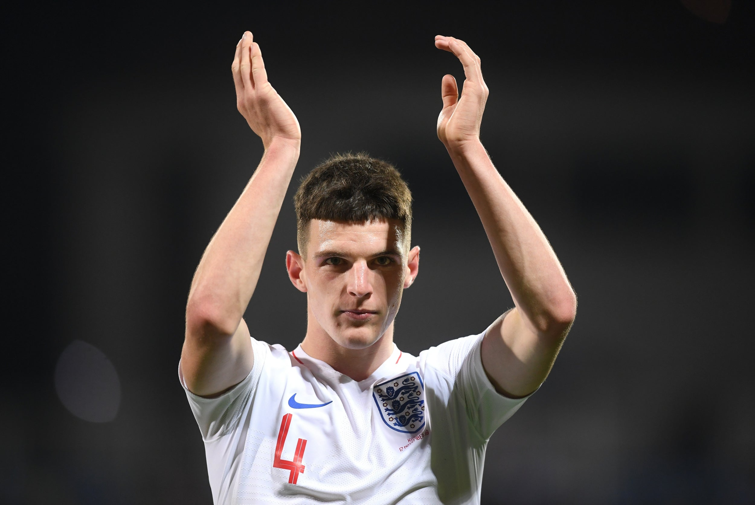 Declan Rice insists he can form a strong England midfield partnership with Harry Winks