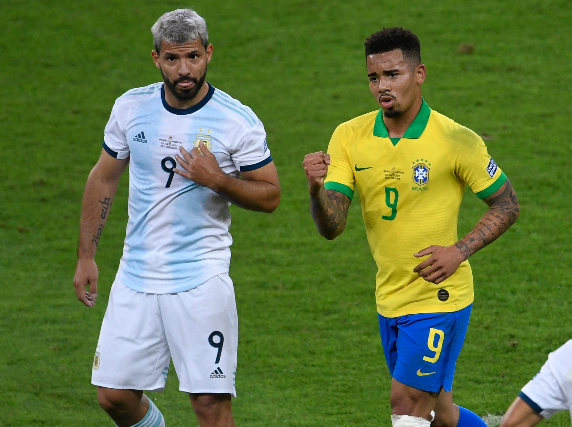 Gabriel Jesus learning all he can from Manchester City team-mate Sergio Aguero