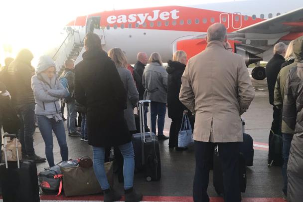 EasyJet passenger boards wrong flight prompting security concerns