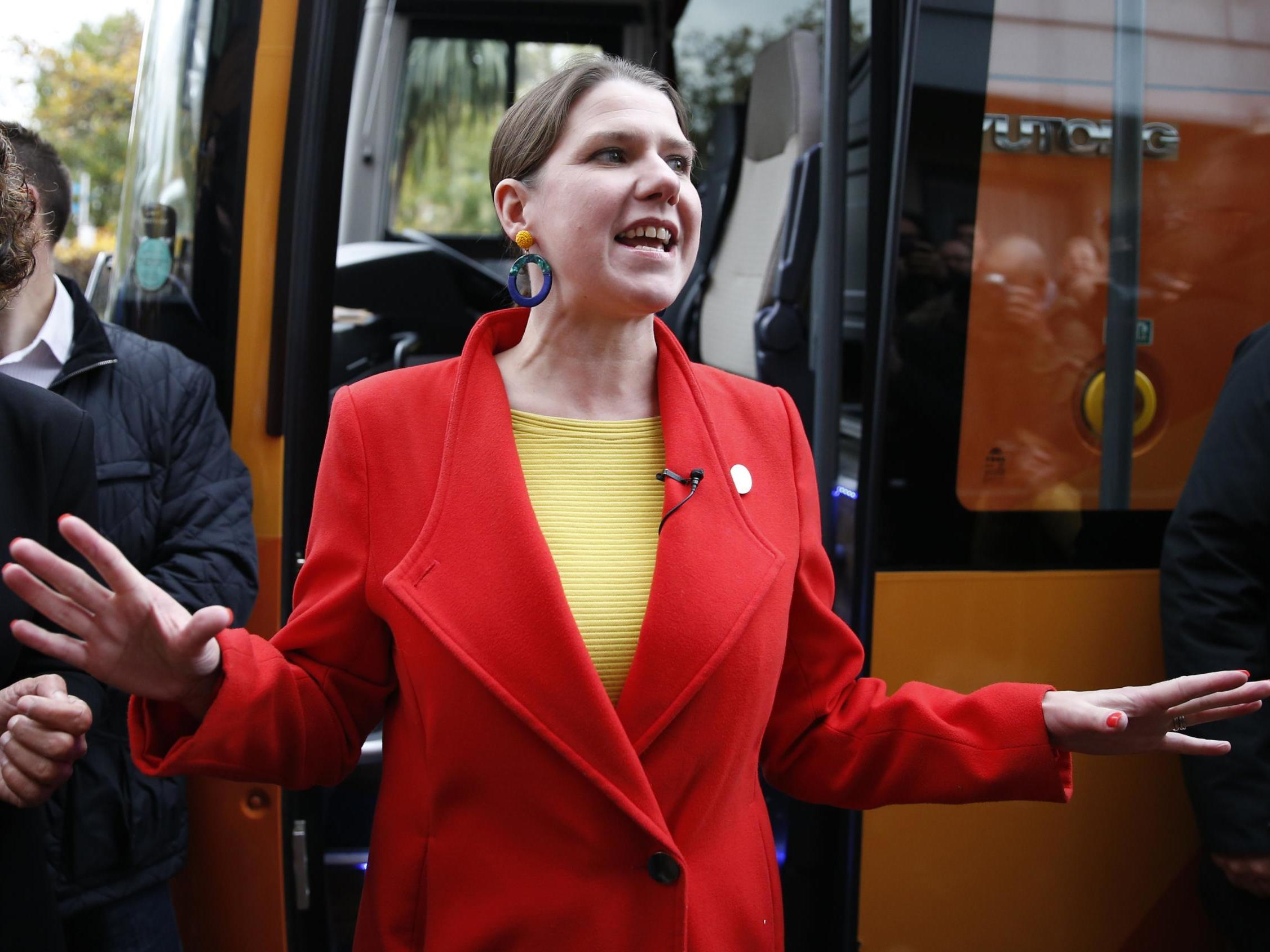 Lib Dem leader Jo Swinson forced to deny shooting stones at squirrels after spoof story goes viral