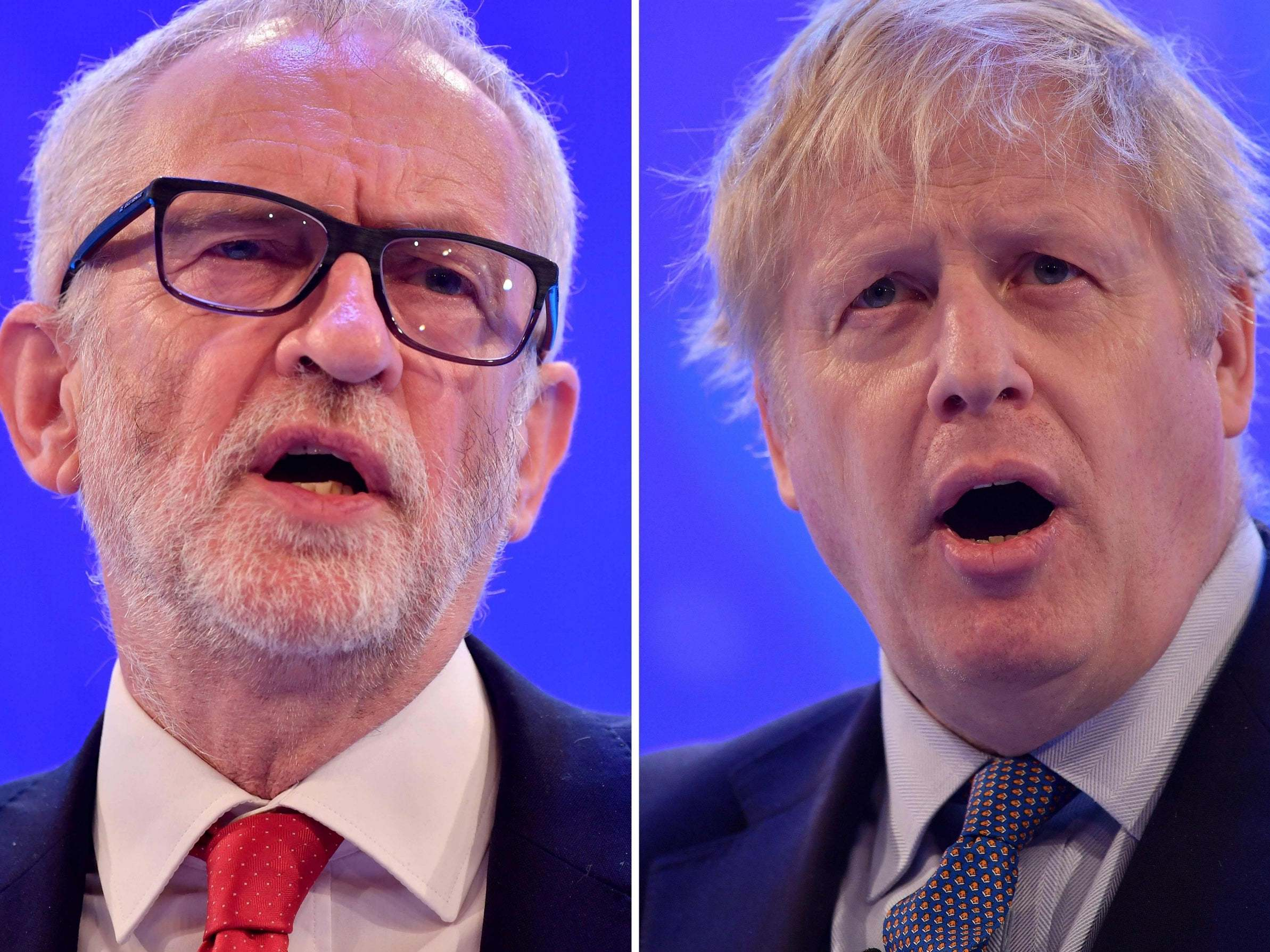 Election debate: Boris Johnson and Corbyn go head to head on TV for first time tonight - follow live