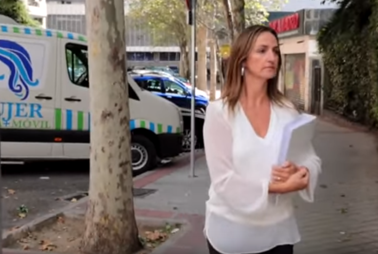 Deputy of far right Spanish party Vox offering ultrasounds to women outside abortion clinics to 'intimidate them'