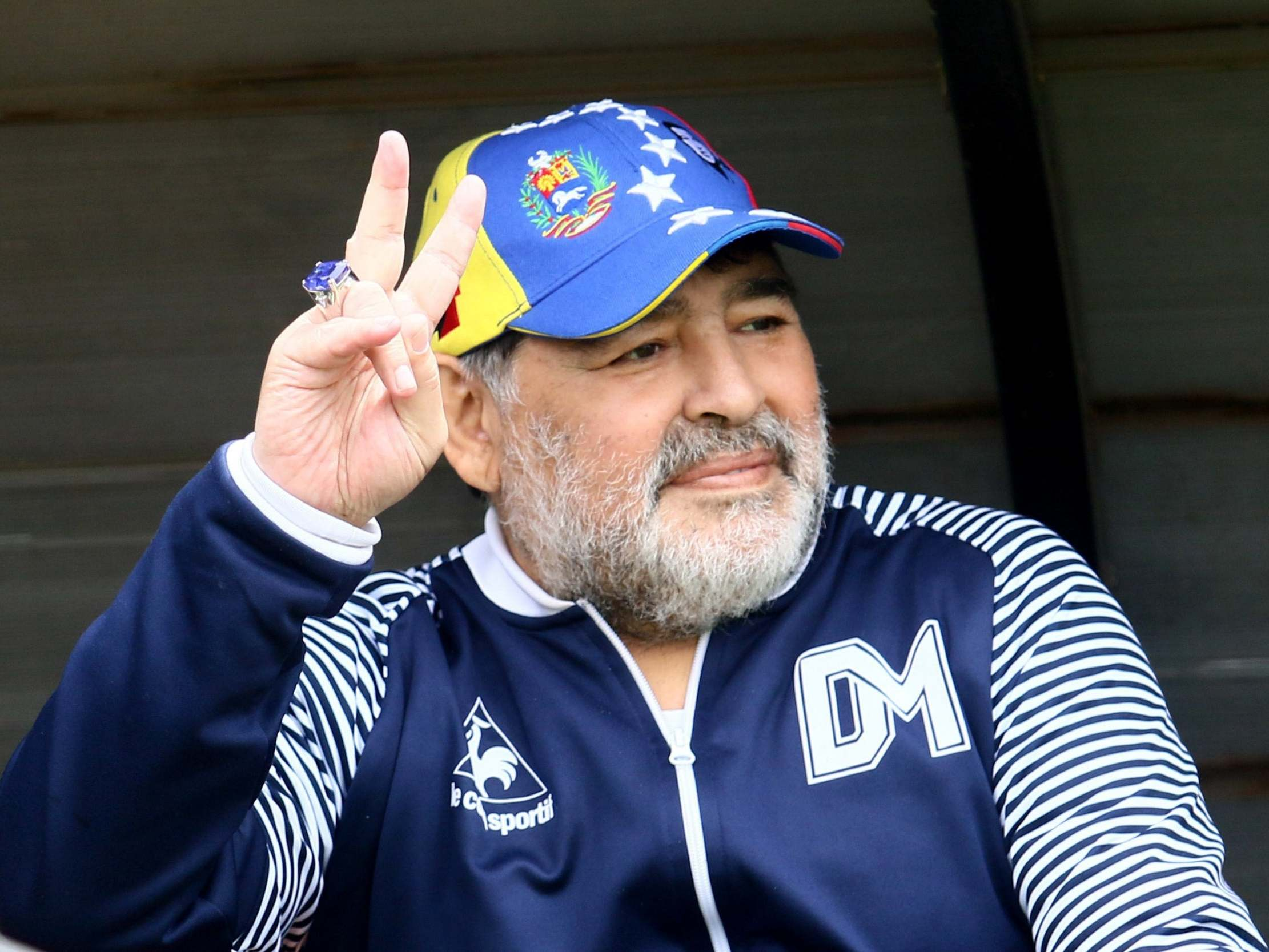 Diego Maradona Quits As Gimnasia Manager After Just Three Months The Independent The Independent