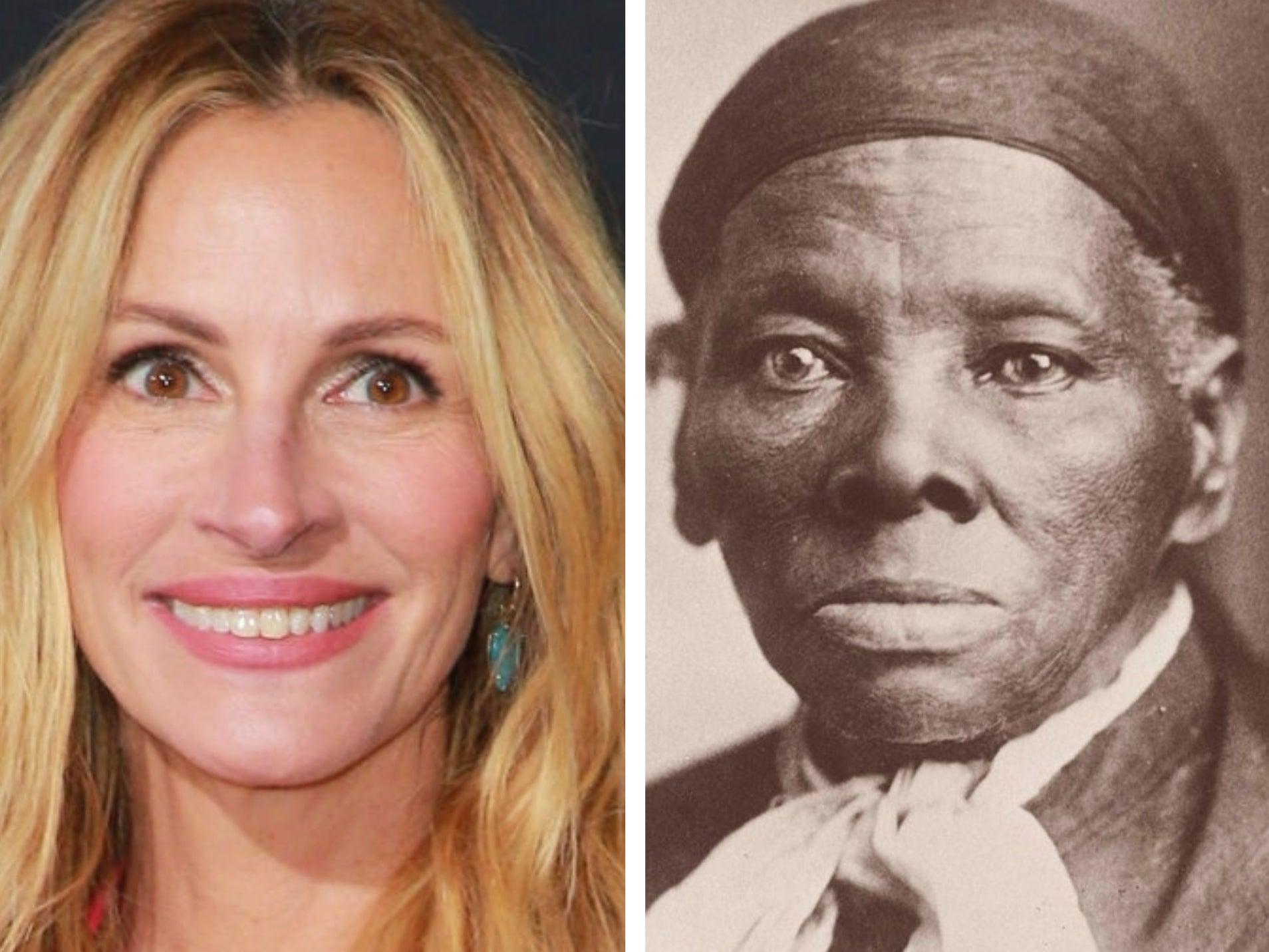 Julia Roberts nearly cast as Harriet Tubman in 1990s biopic, screenwriter claims